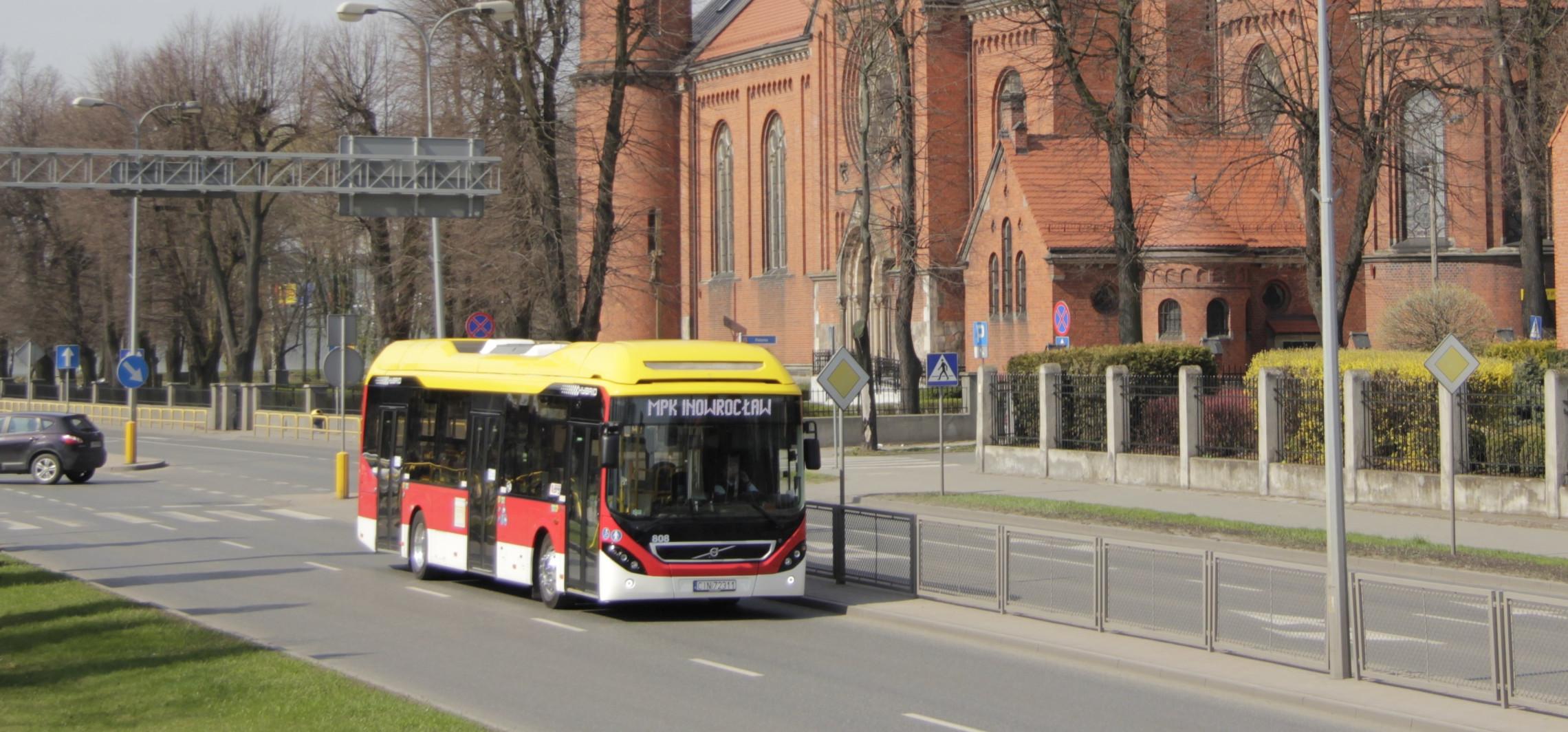 Inowrocław - Będzie korekta rozkładu jazdy dwóch linii MPK