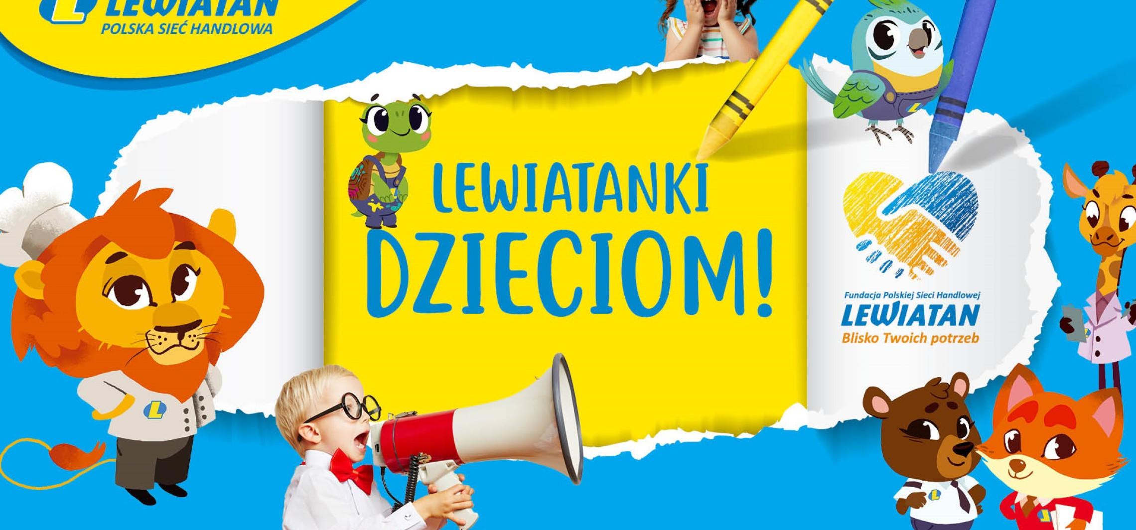 """Kraj - Dzień Dziecka z """"Fundacją PSH Lewiatan. Blisko Twoich potrzeb"""""""