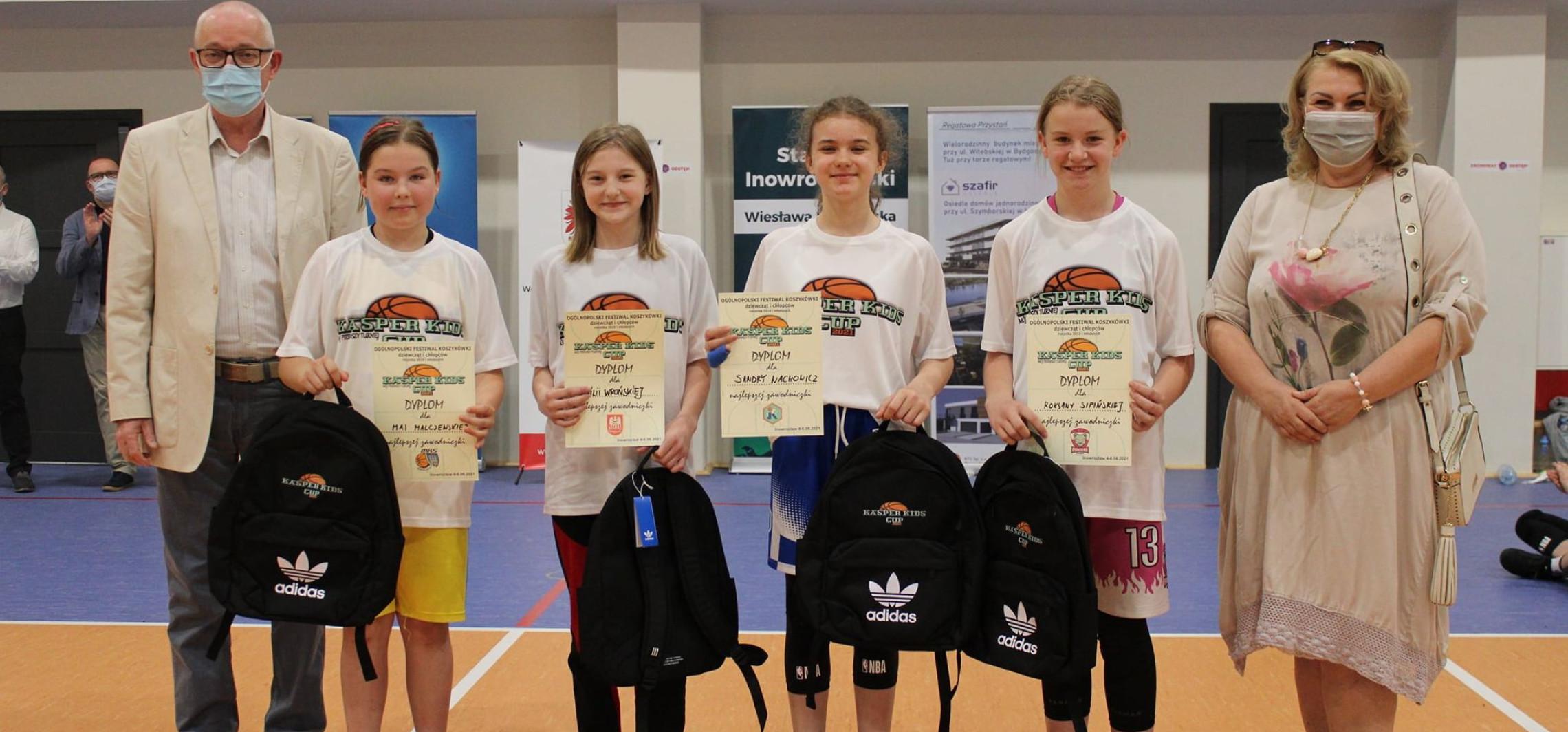 Inowrocław - Sześć ekip zagrało w Kasper Kids Cup