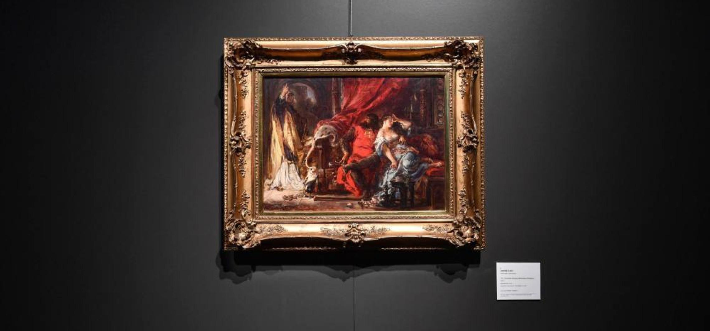 Odnaleziony obraz Matejki na wystawie i aukcji