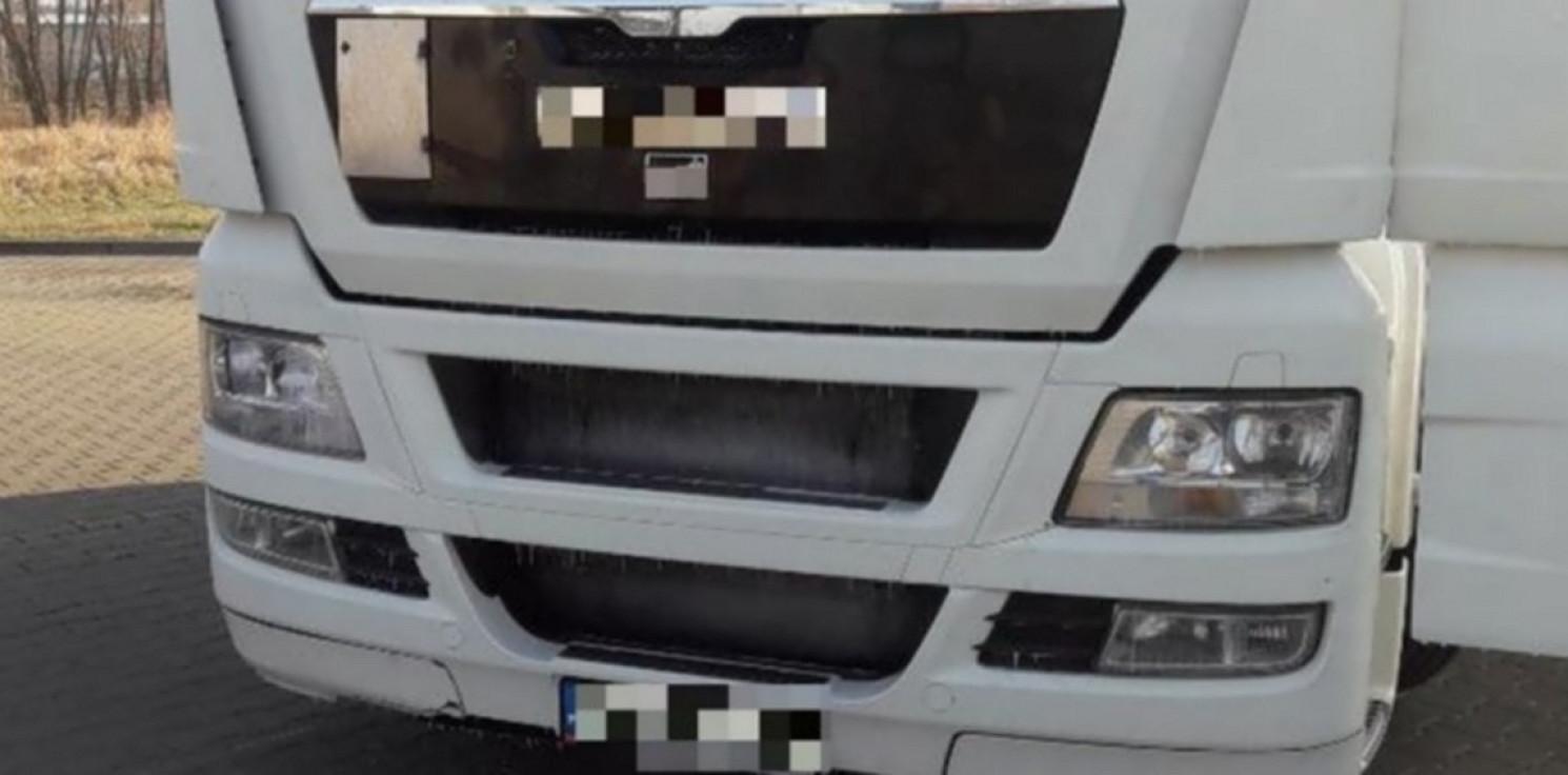Mogilno - Kierował ciężarówką mając prawie dwa promile