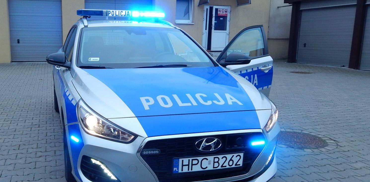 Mogilno - Uciekał przed policją, a auto porzucił na osiedlu