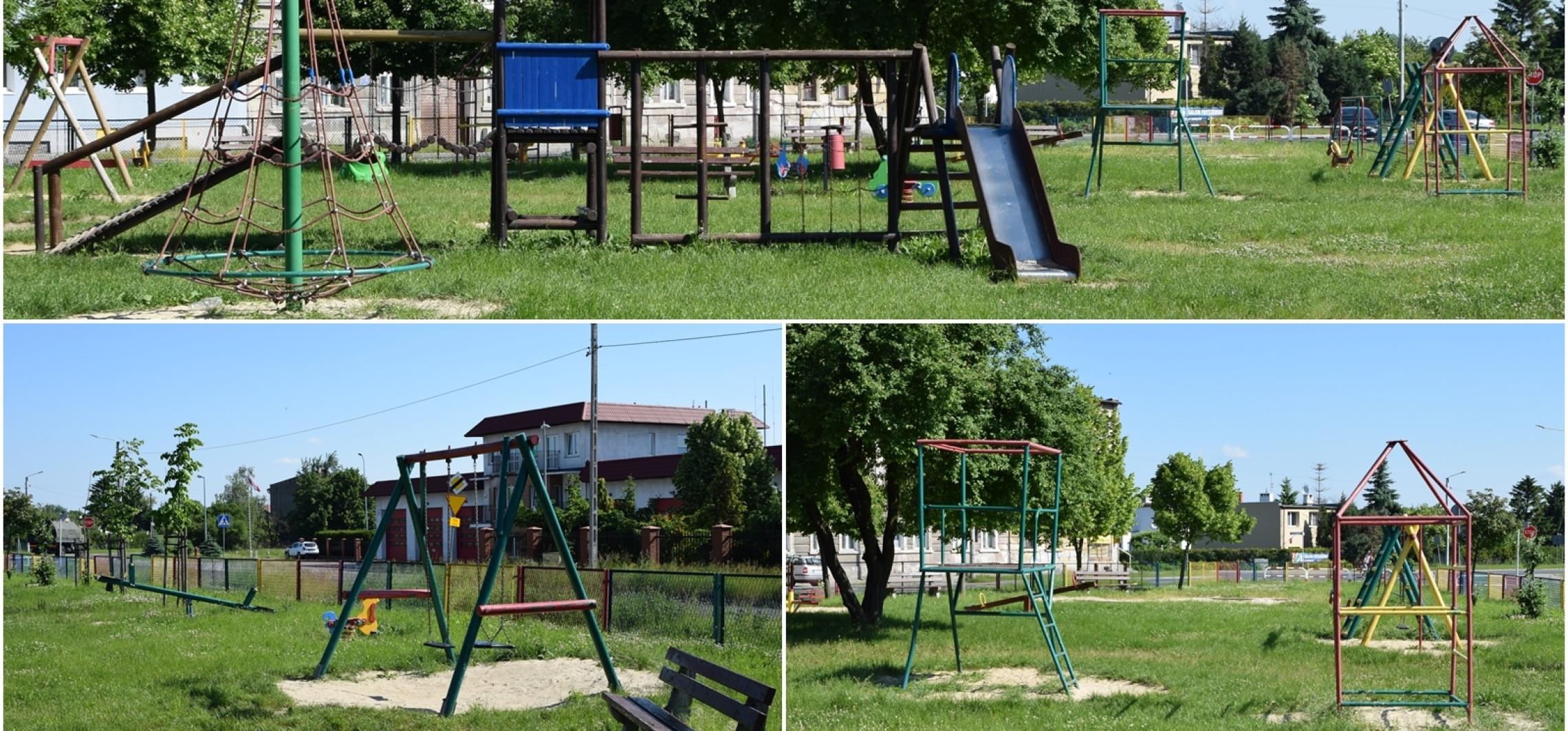 Inowrocław - Ten plac zabaw zyska nowe urządzenia