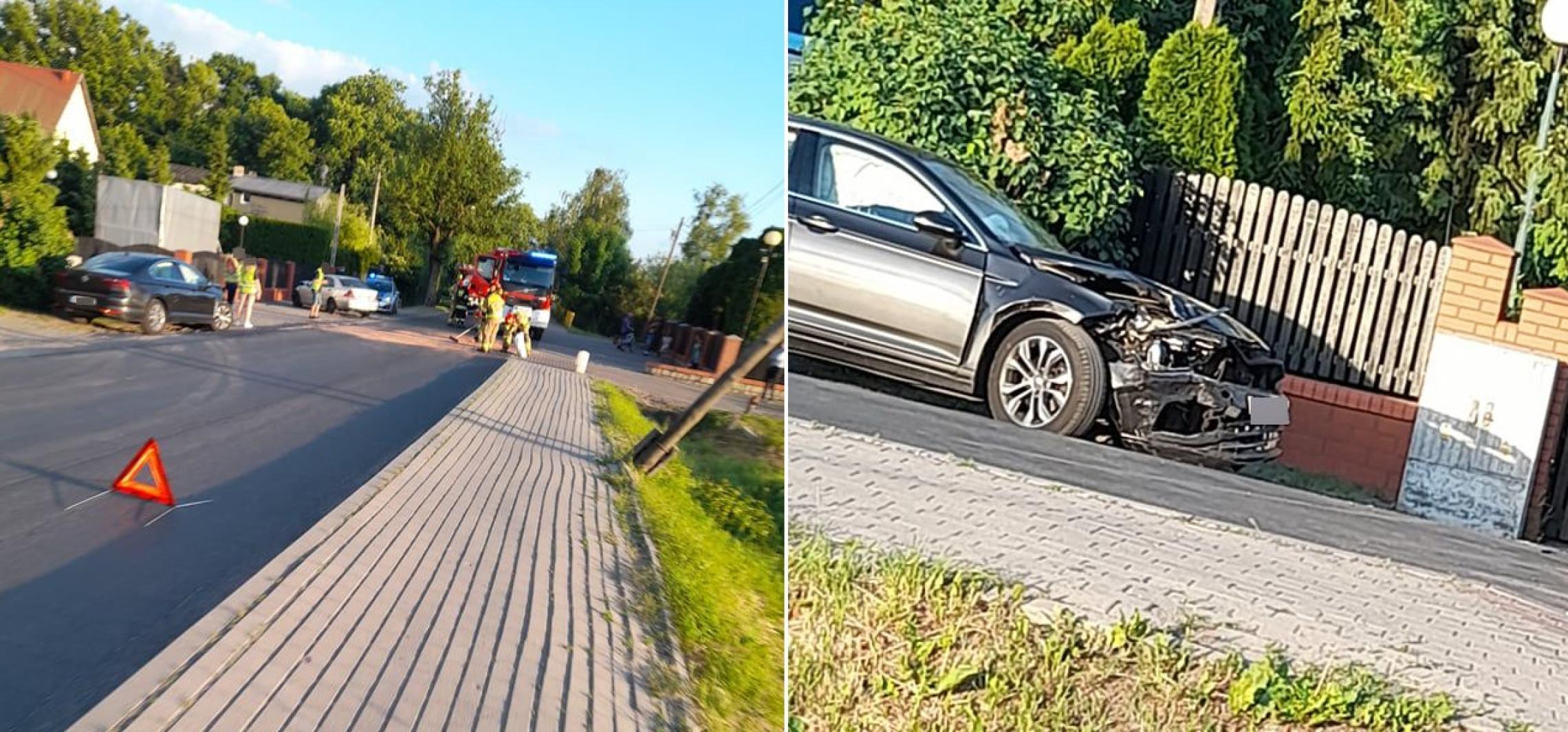 W Orłowie zderzyły się dwa auta
