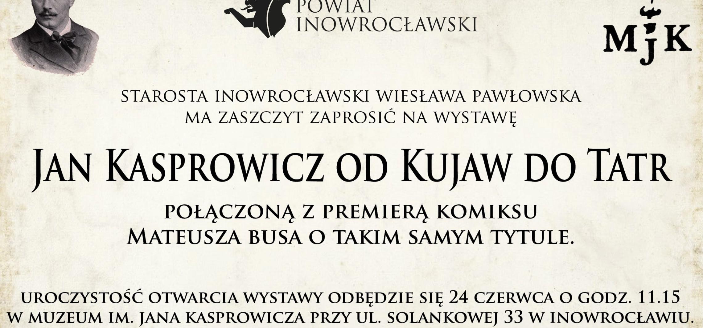 Wystawa i komiks poświęcone Kasprowiczowi