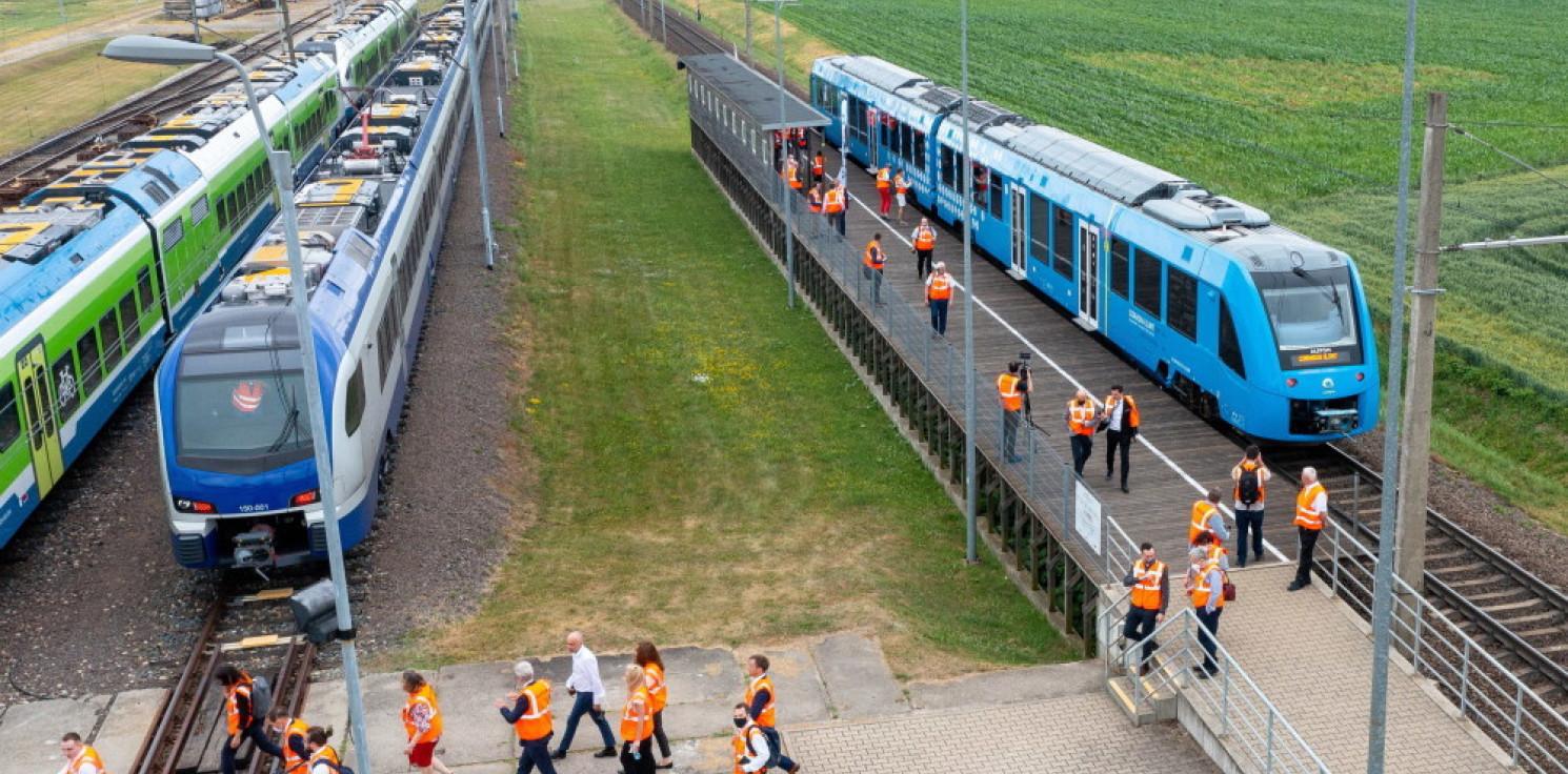 Rozmaitości - Alstom zaprezentował pierwszy na świecie pociąg wodorowy