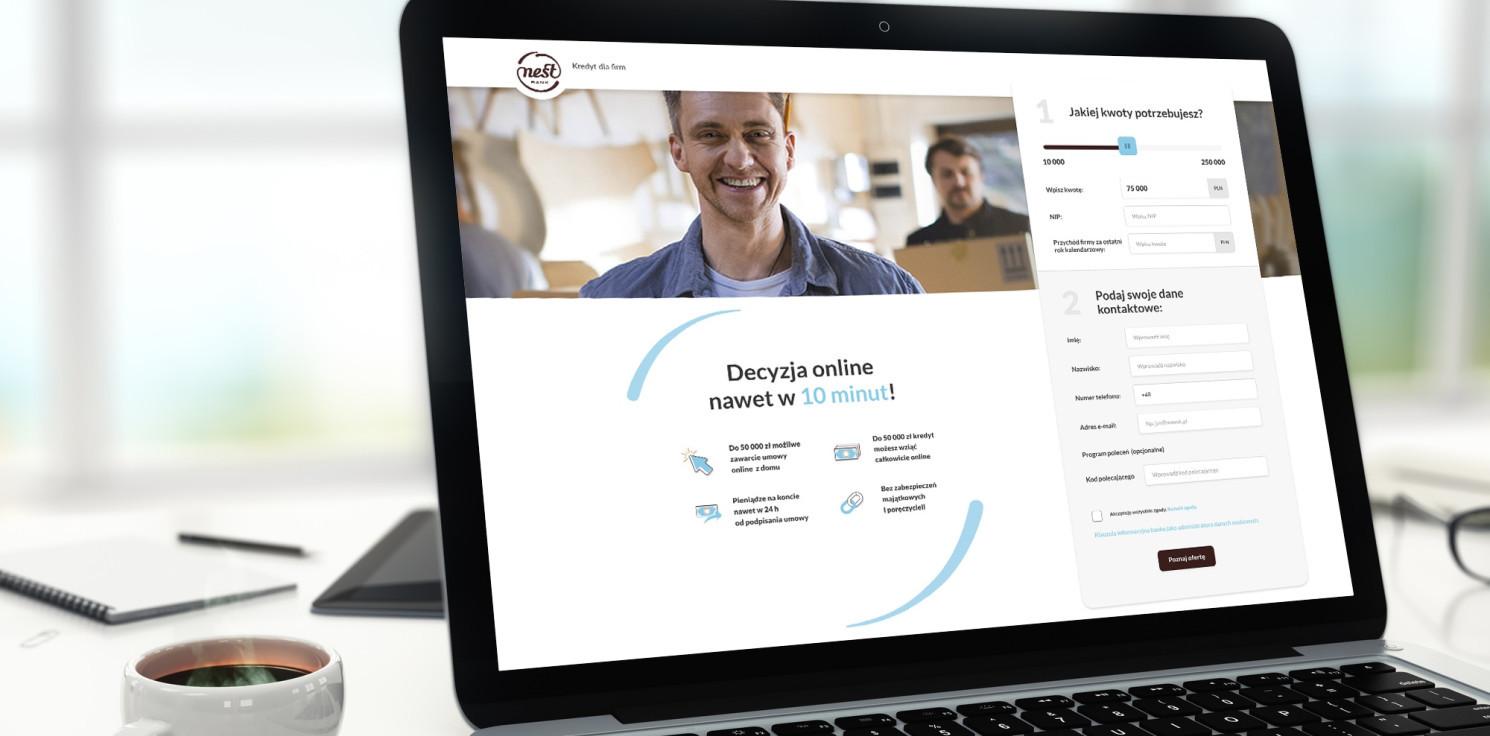 Kraj - Pierwszy w pełni digitalowy kredyt dla firm już dostępny w Nest Banku
