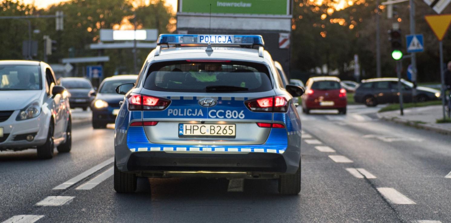 """Inowrocław - Kolizje, mandaty i zatrzymane """"prawka"""""""