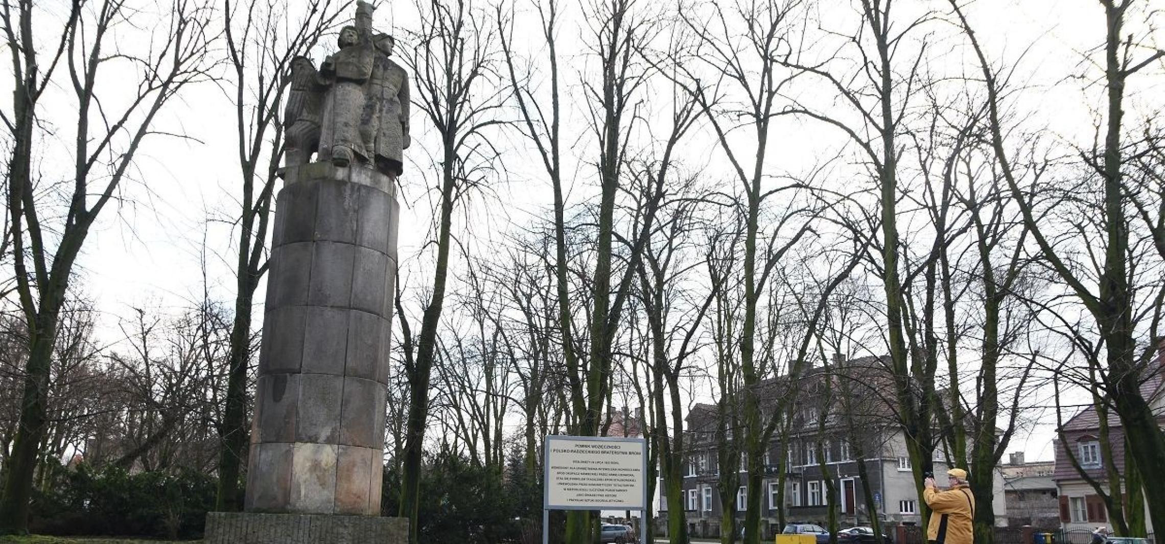 Inowrocław - 22 lipca odsłonięto pomnik, którego już nie ma
