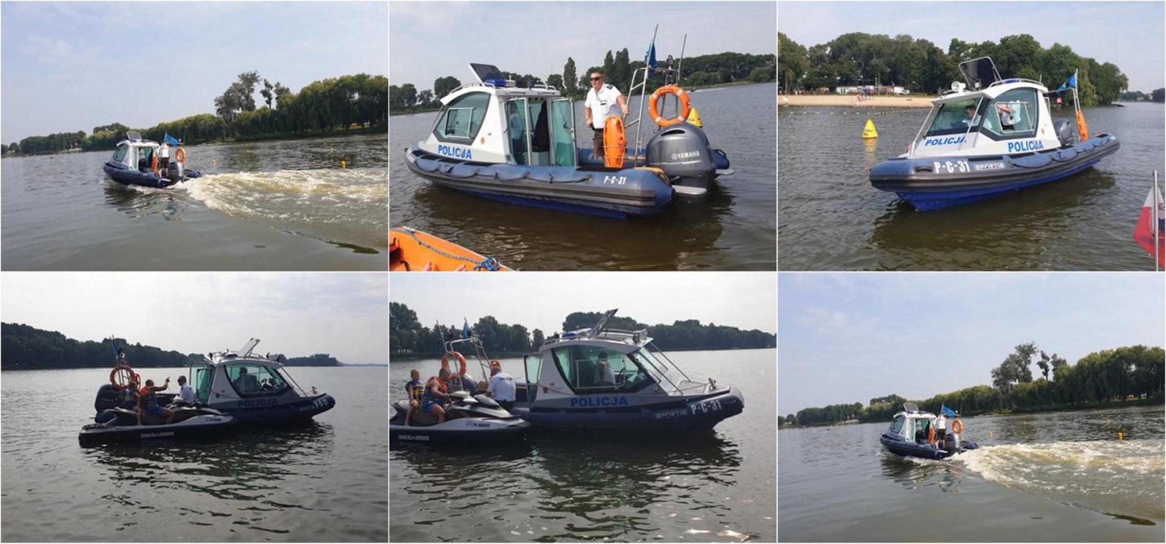 Kruszwica - Patrole nad wodą mają zapobiec tragediom
