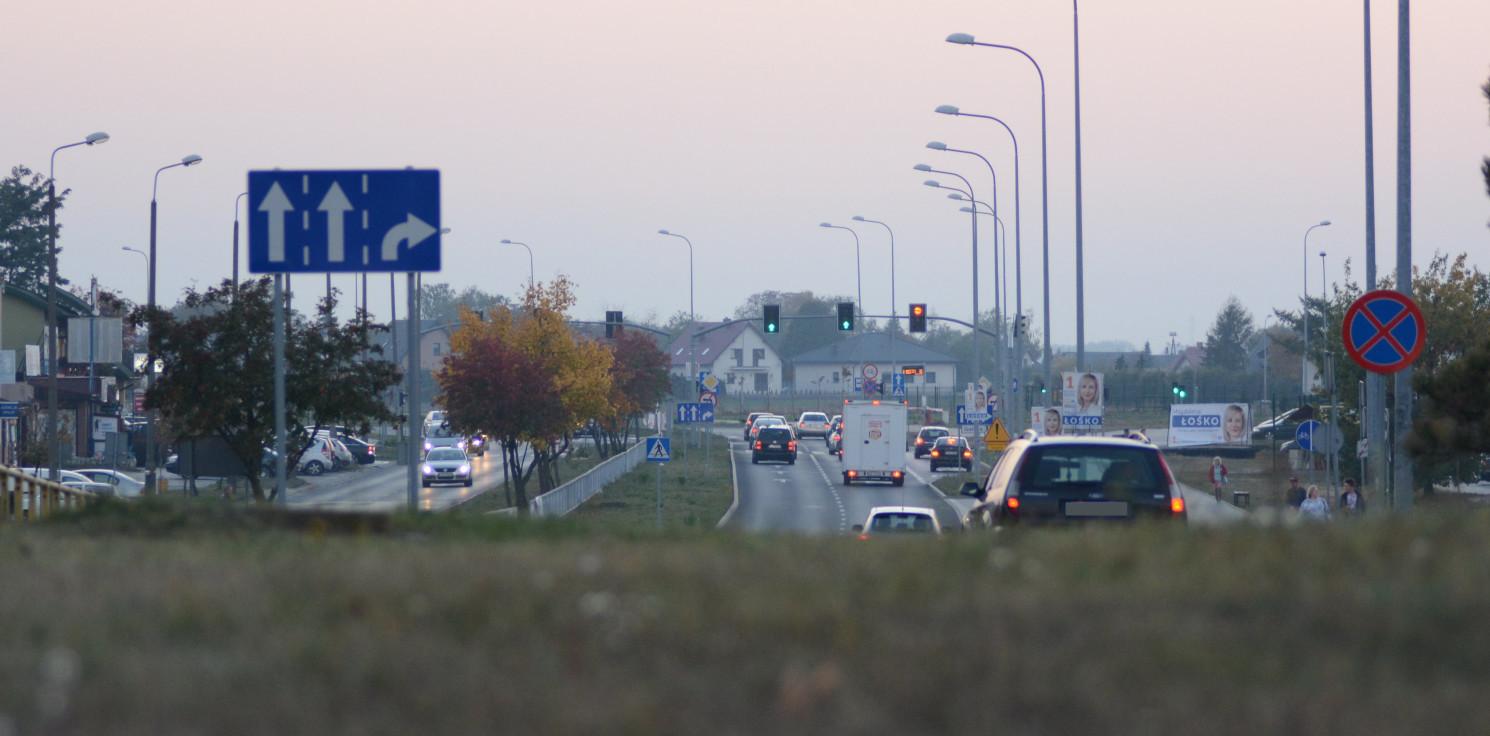 Inowrocław - Kaskadowy pomiar prędkości. 94 przekroczenia
