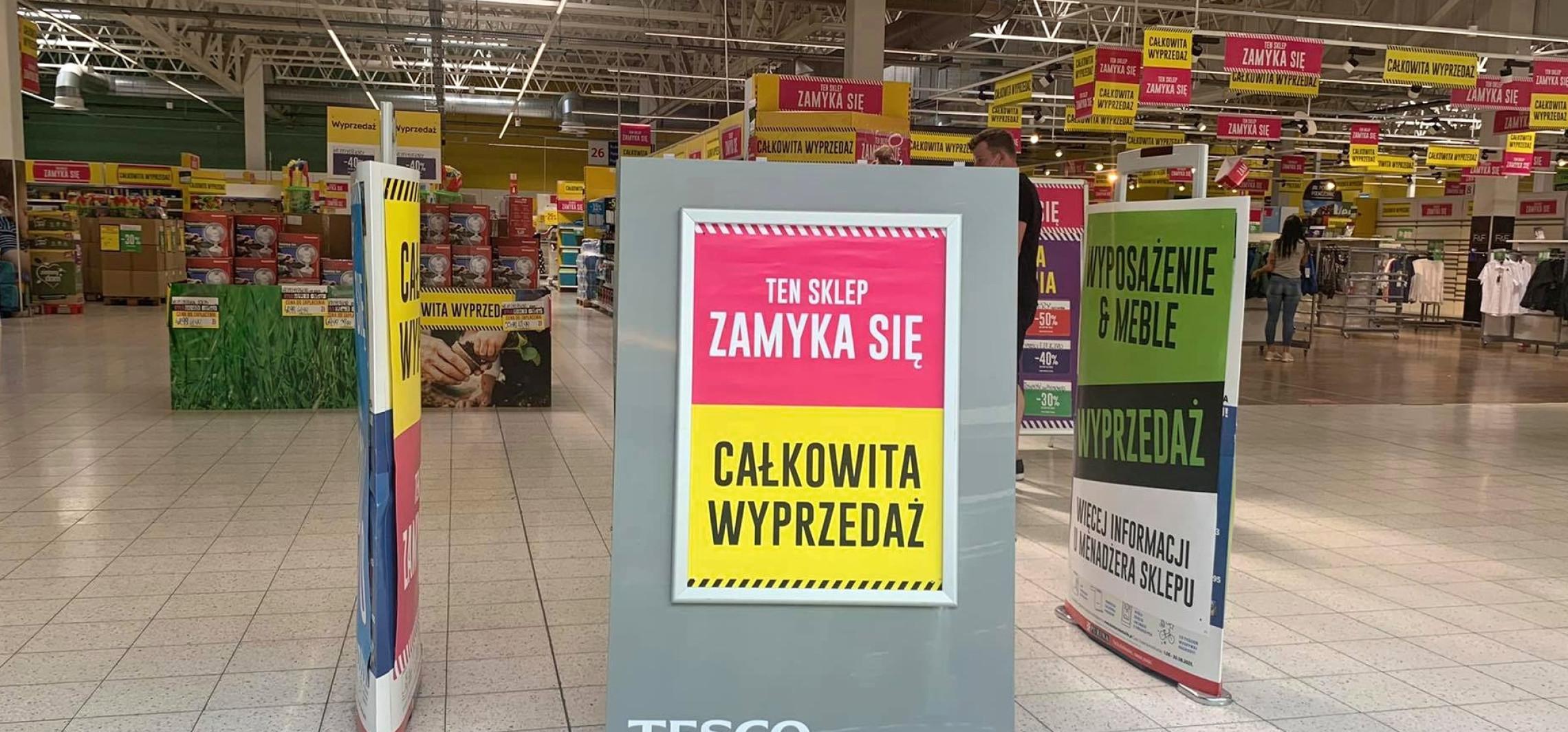 Inowrocław - Tesco się zamyka. Zastąpi je Netto?
