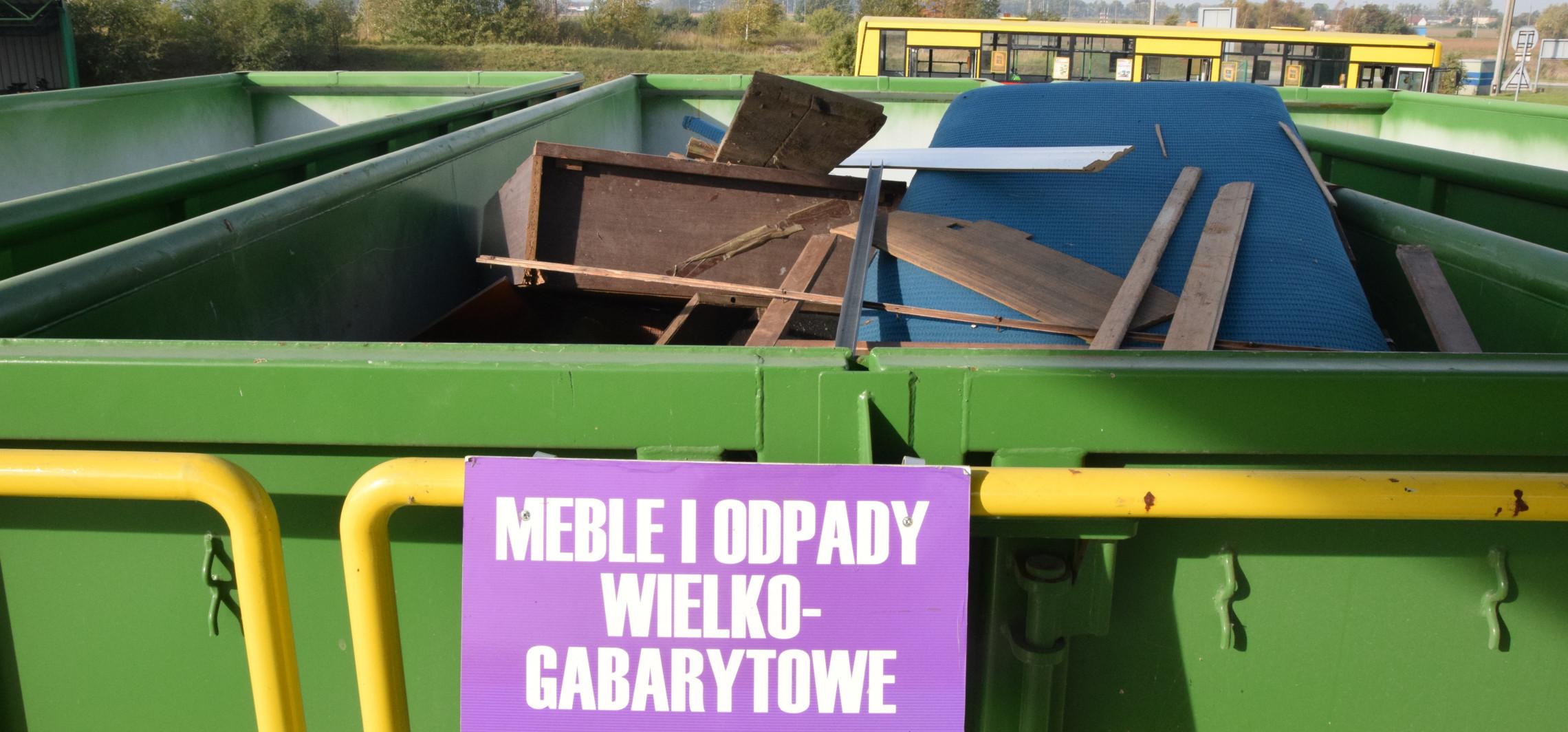 Inowrocław - Zielona środa: zbiórka odpadów wielkogabarytowych