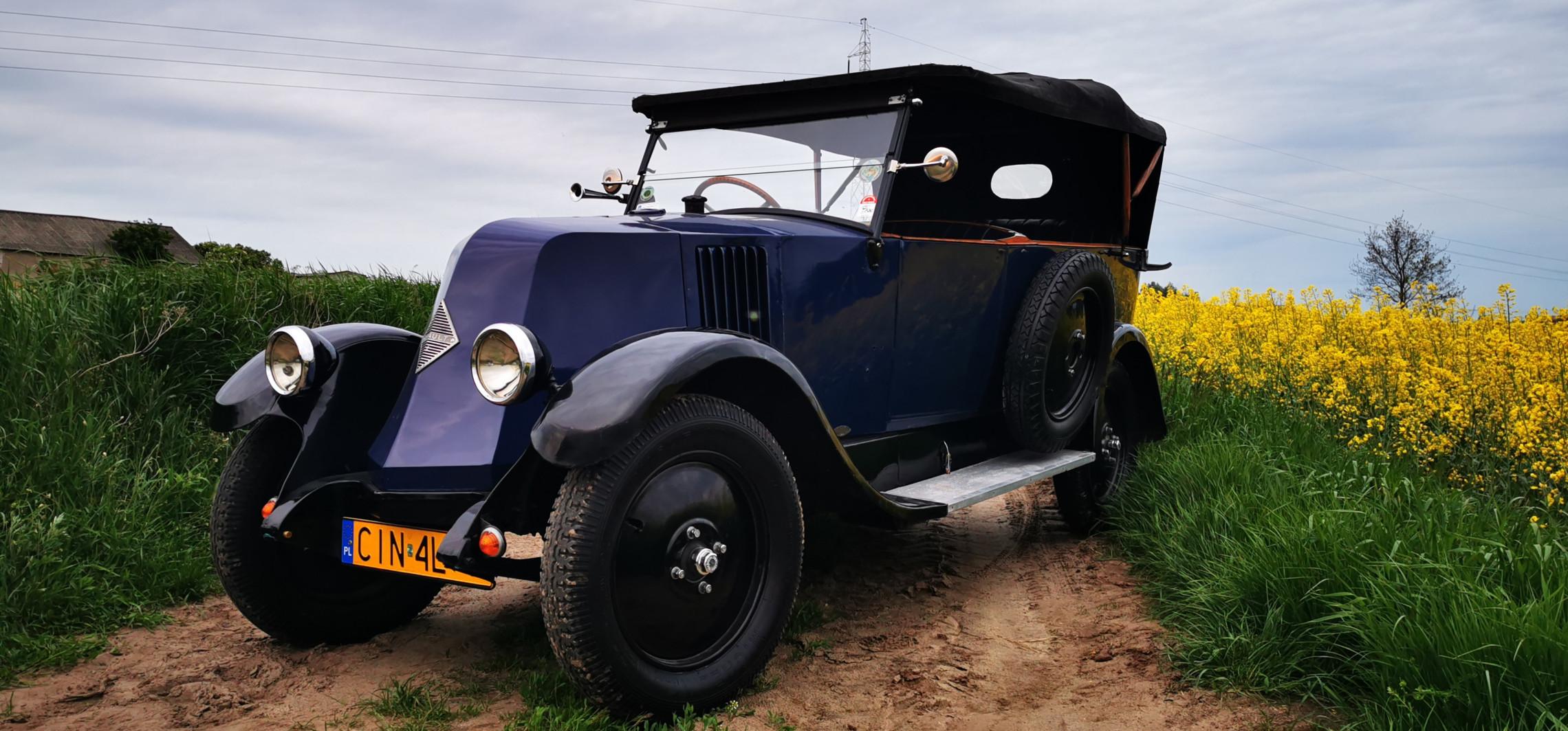 Ich Renault z 1927 roku będzie reprezentować Polskę