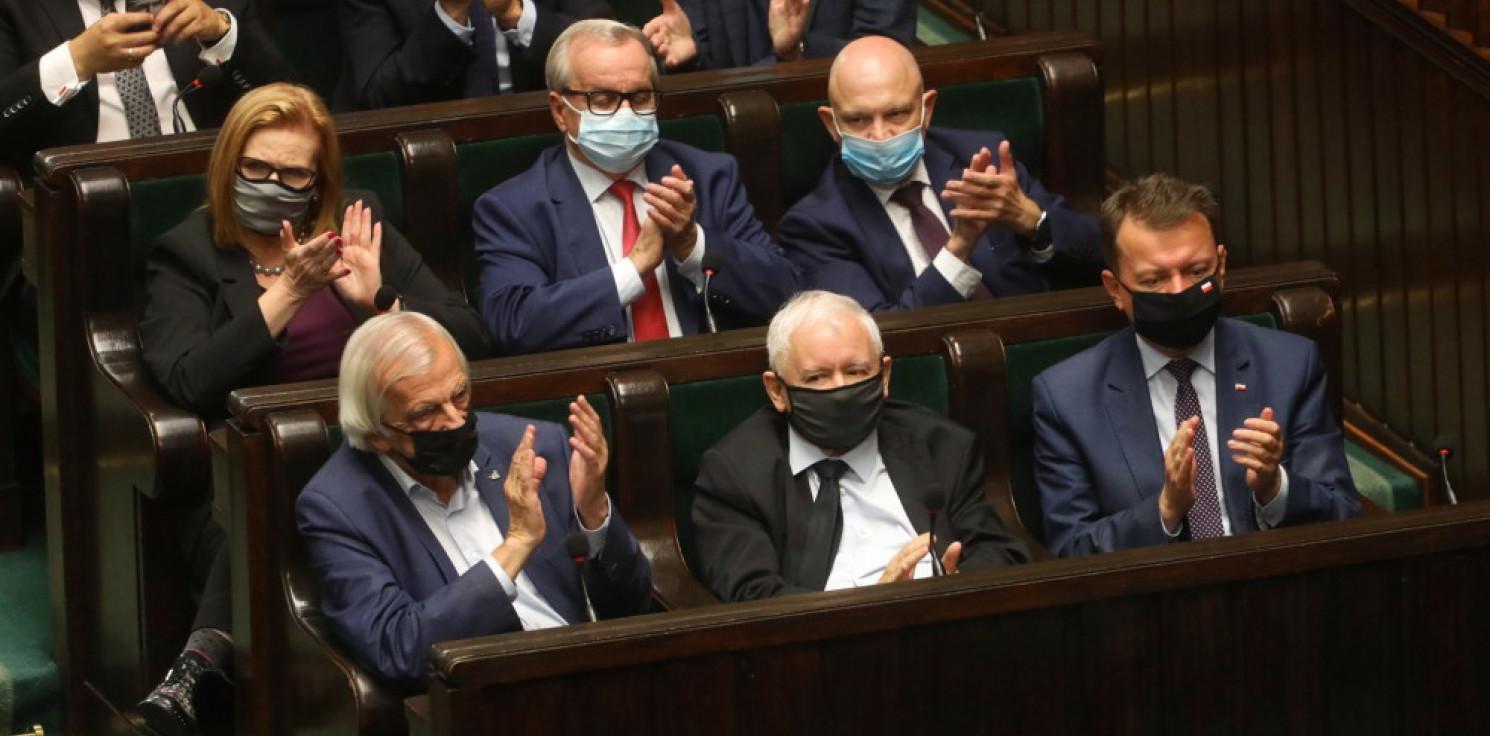 Kraj - Sejm nie uchylił rozporządzenia prezydenta o wprowadzeniu stanu wyjątkowego