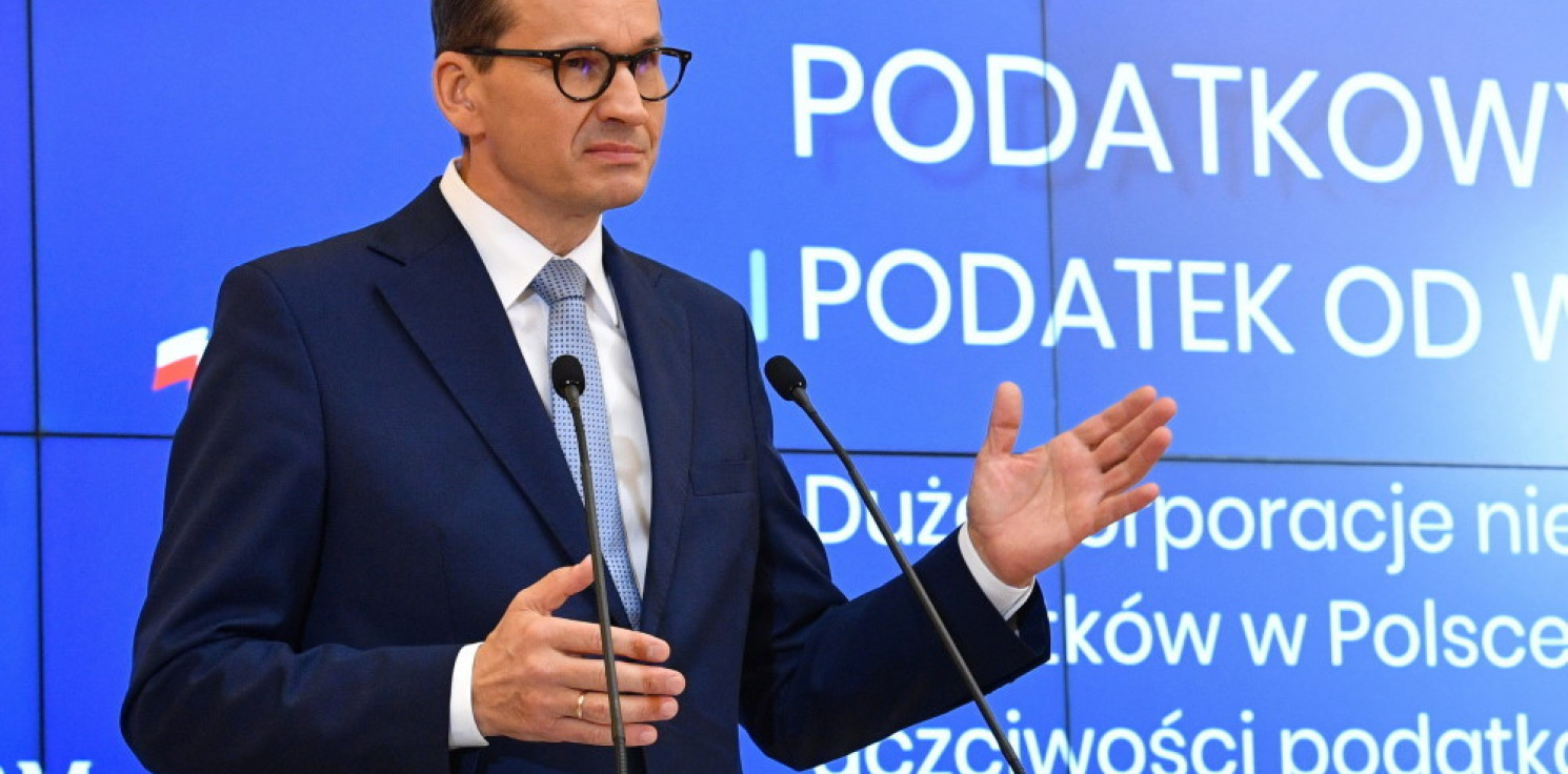 Kraj - Morawiecki: rząd przyjął projekty zmian podatkowych w ramach Polskiego Ładu