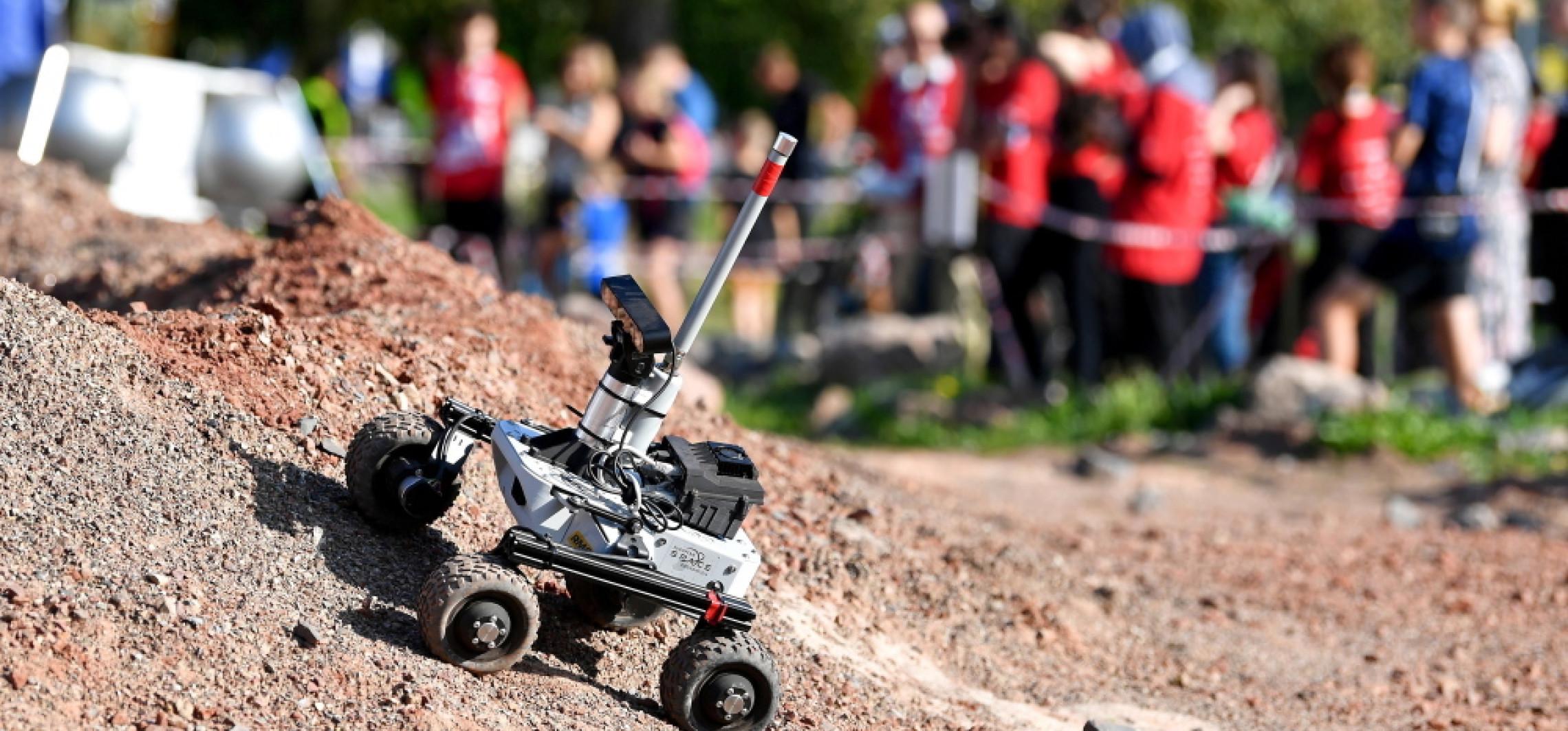 Zespoły z Polski i Indii zwycięzcami zawodów łazików marsjańskich European Rover Challenge