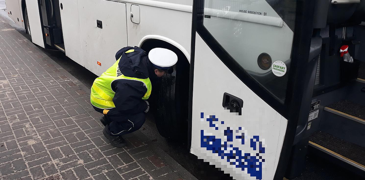 Inowrocław - Autobus z wadliwymi hamulcami miał wieźć dzieci
