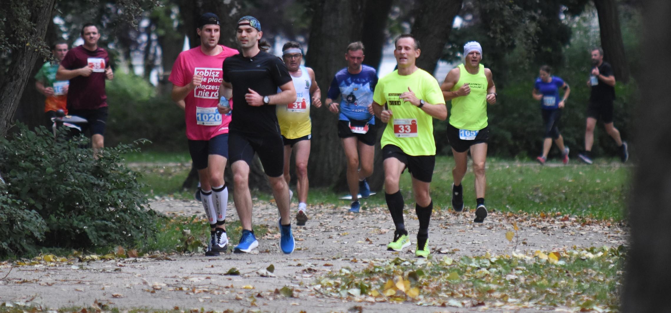 Inowrocław - Wielkie bieganie po Parku Solankowym