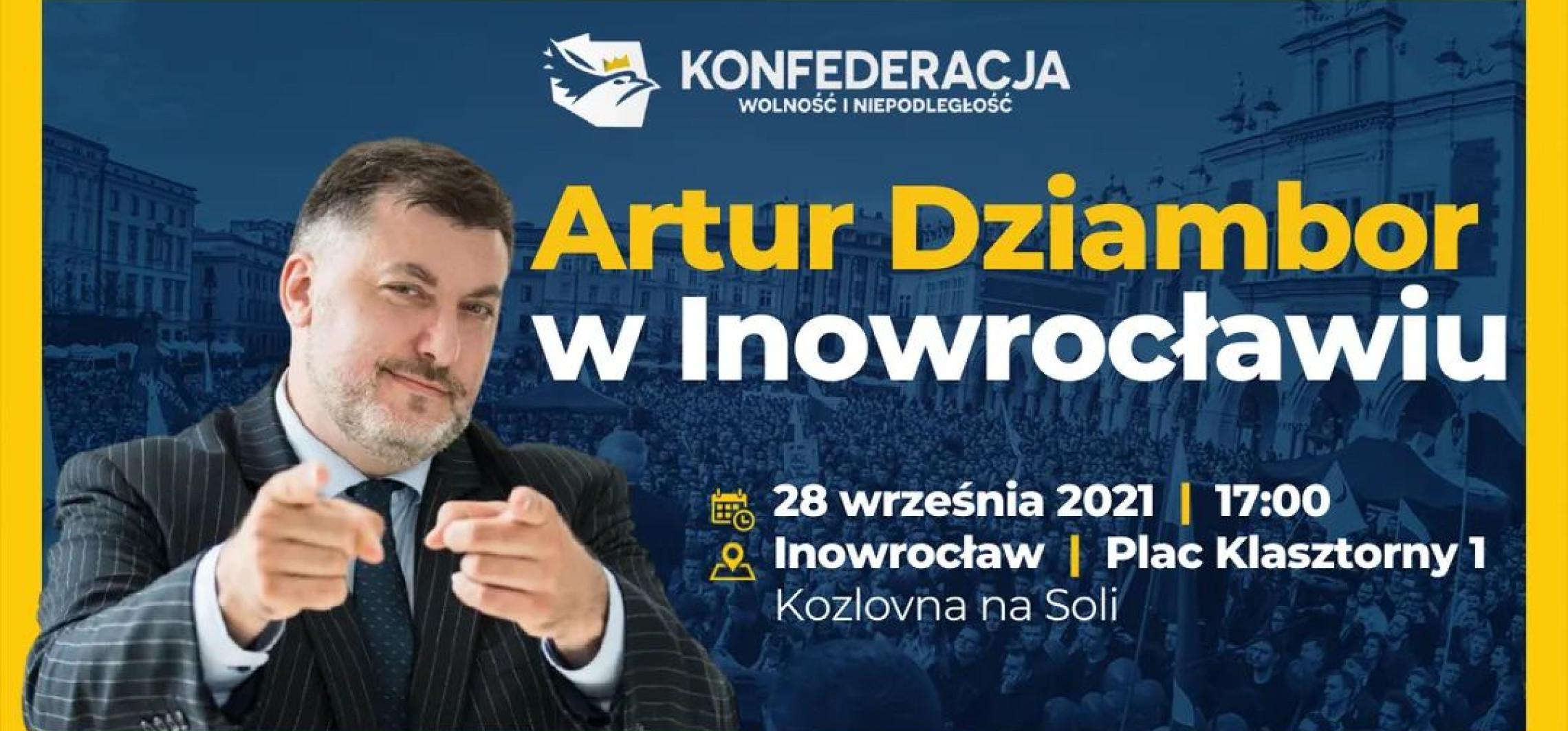 Inowrocław - Poseł Konfederacji spotka się z mieszkańcami
