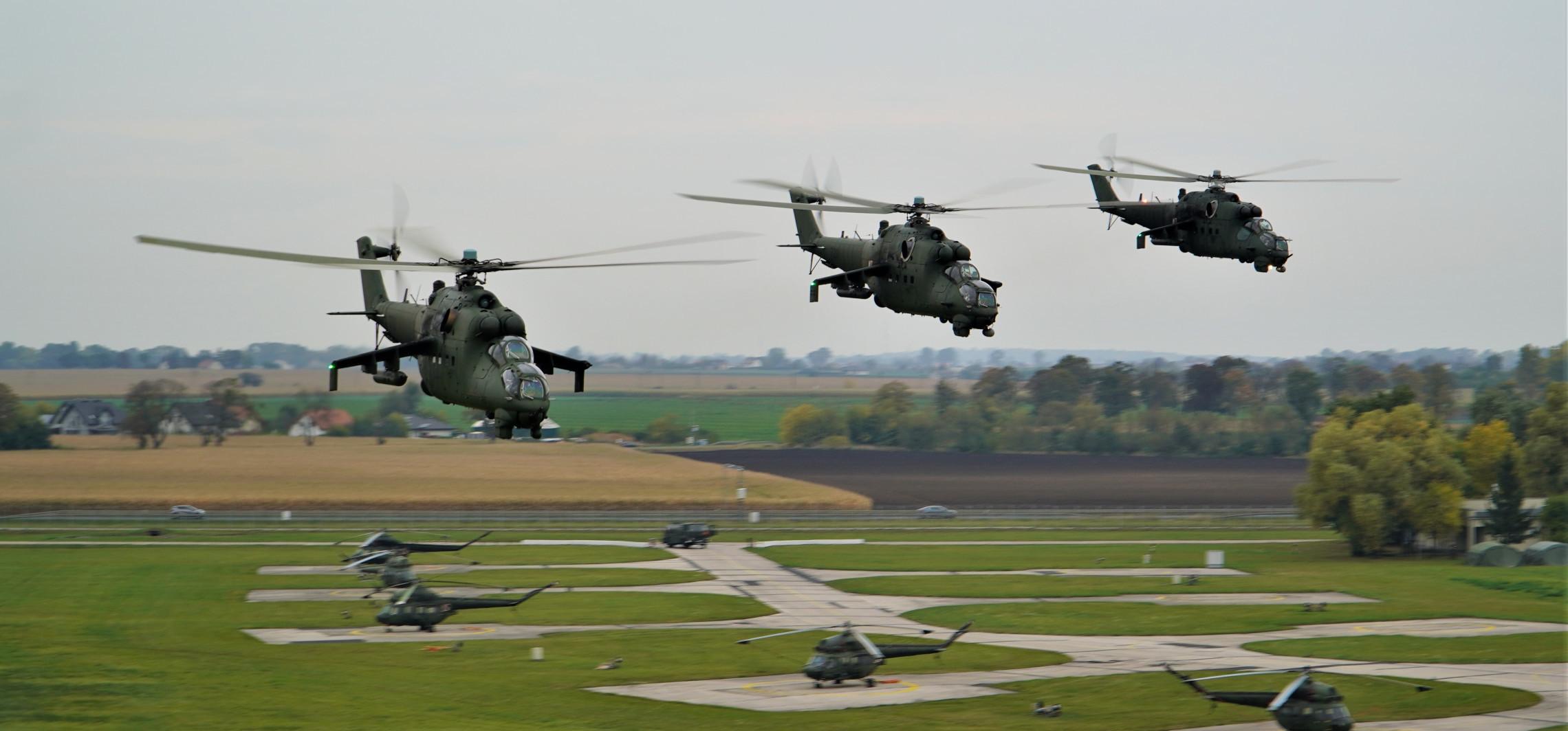 Region - Ćwiczenie Gopło-21. Śmigłowce szturmowe w akcji
