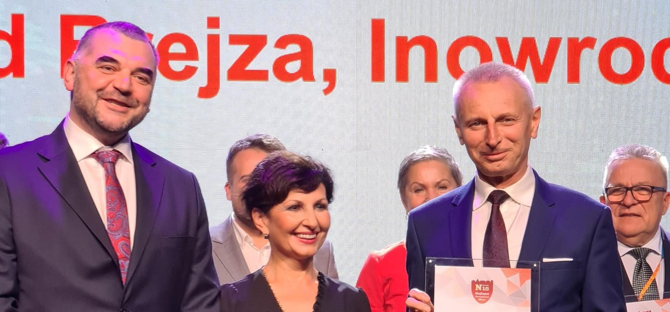 Inowrocław - Newsweek: Ryszard Brejza na podium plebiscytu