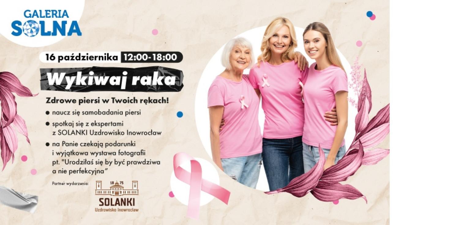 Inowrocław - Wykiwaj raka - akcja profilaktyczna w Galerii Solnej!