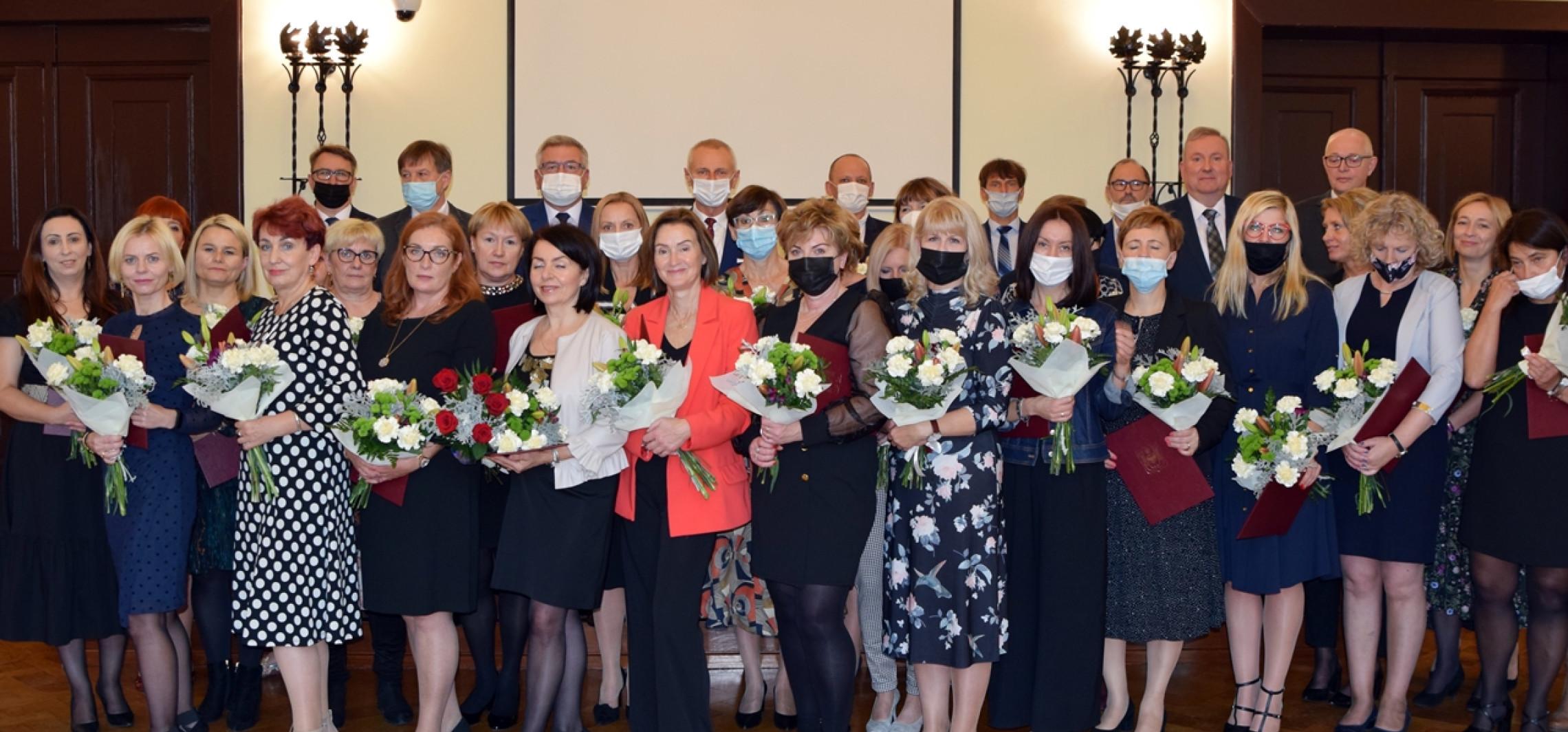 Inowrocław - Nauczyciele z nagrodami i wyróżnieniami