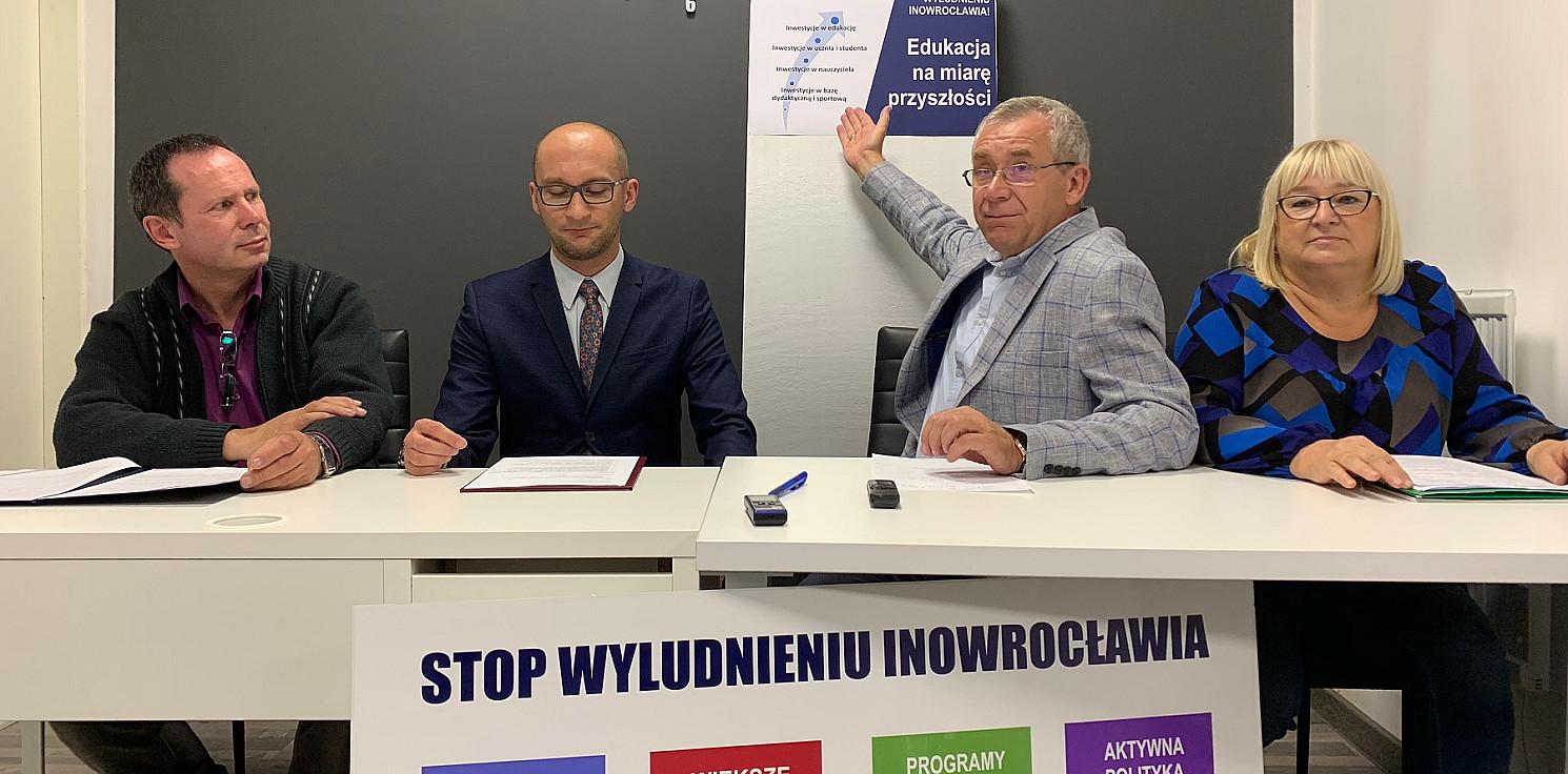 Inowrocław - Chcą edukacji na miarę przyszłości