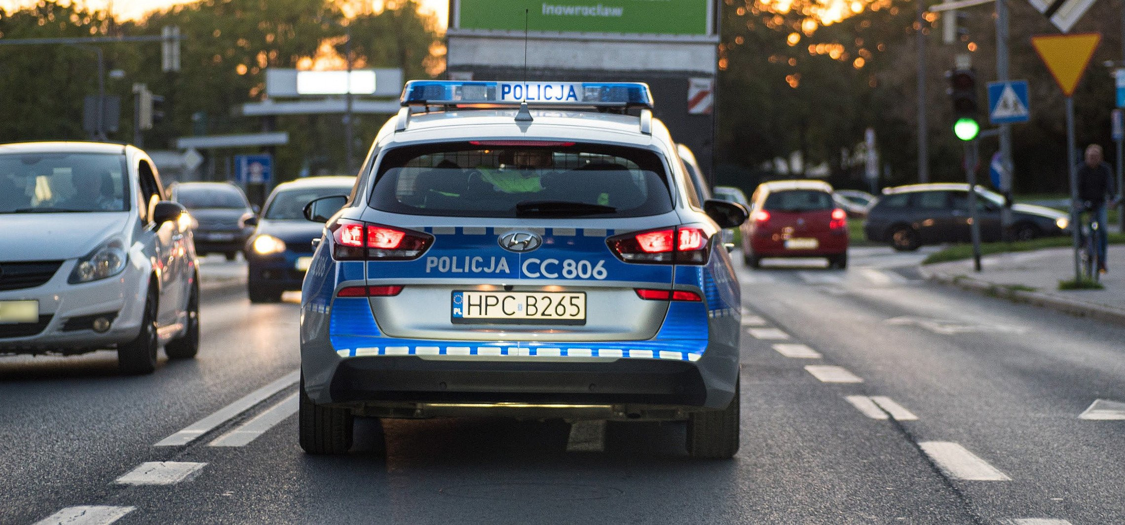 Inowrocław - Wtorek na drogach: alkohol i nadmierna prędkość