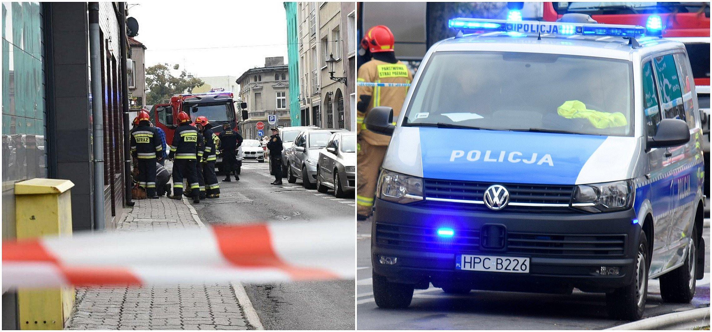 Inowrocław - Policyjny pościg ulicami miasta
