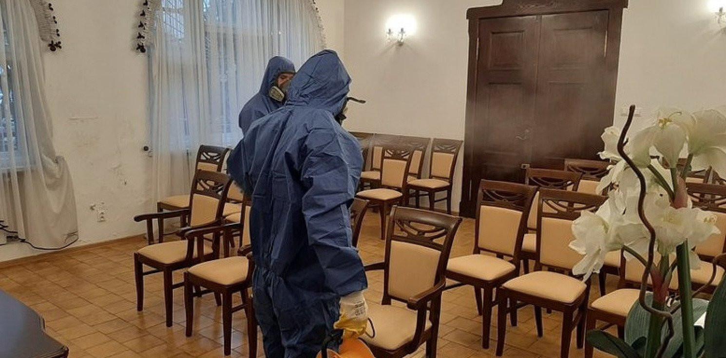 Gniewkowo - W Gniewkowie trwa dezynfekcja urzędu