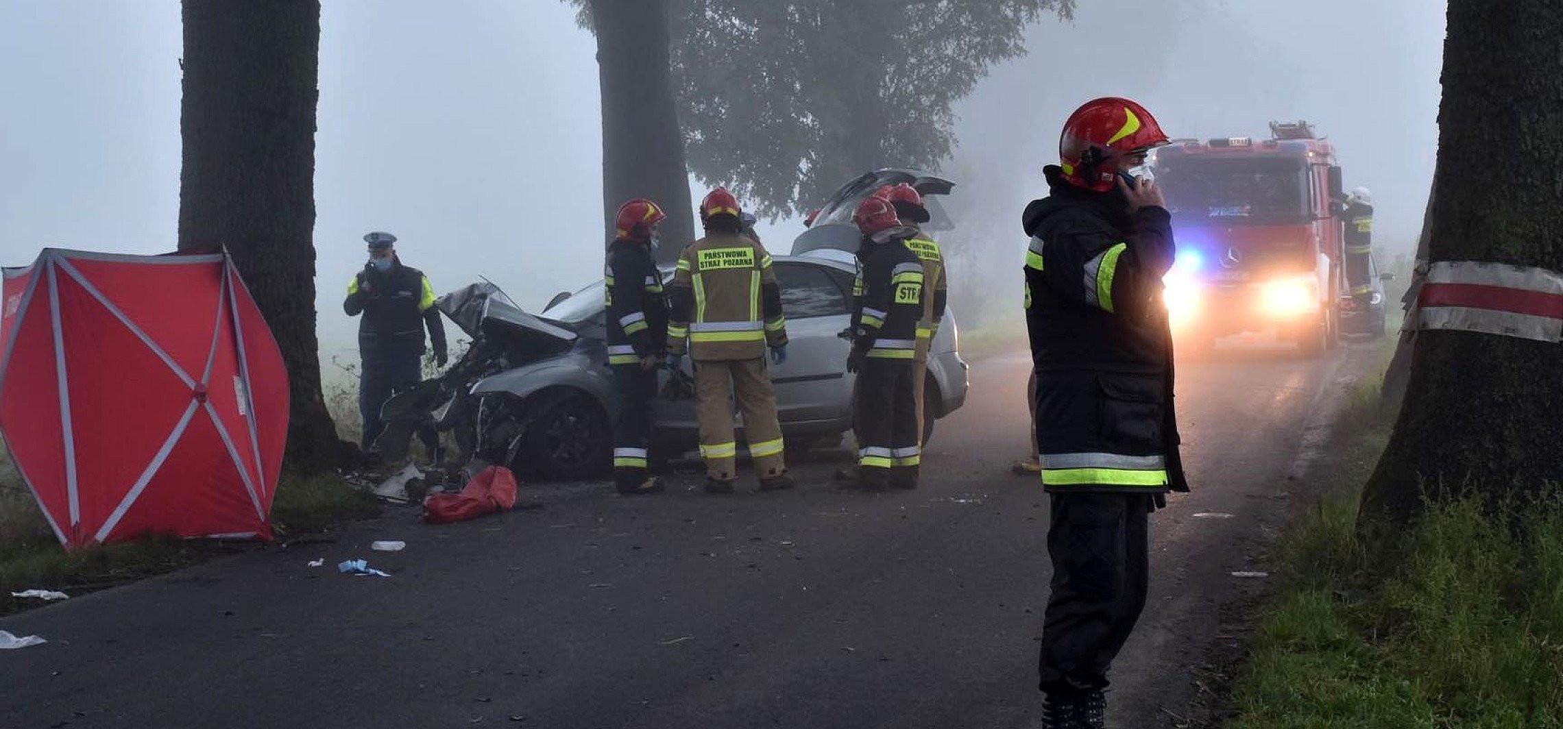 Inowrocław - Tragiczny wypadek w Orłowie