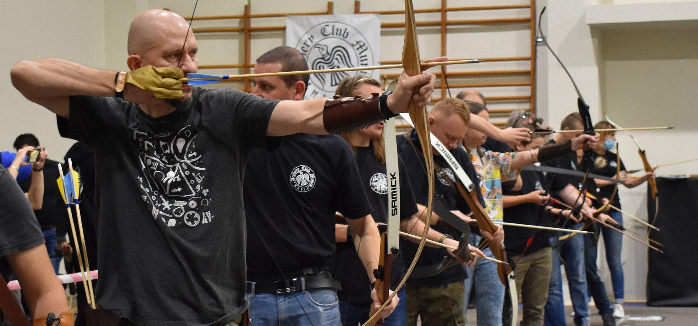 Inowrocław - Strzelali z łuku. To pierwszy taki turniej