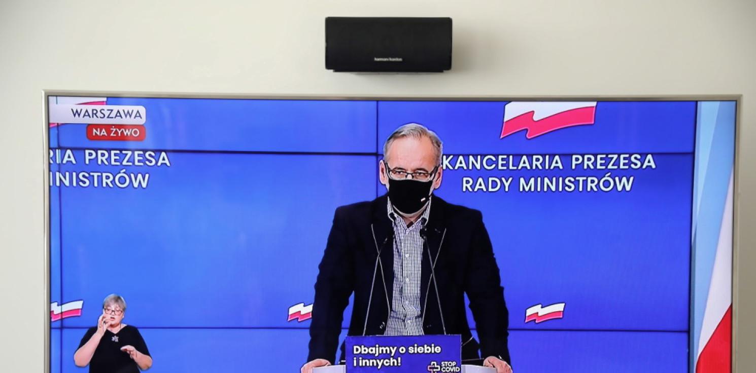 Kraj - Minister zdrowia: tymczasowe szpitale, prywatne lecznictwo i żołnierze wesprą walkę z COVID-19