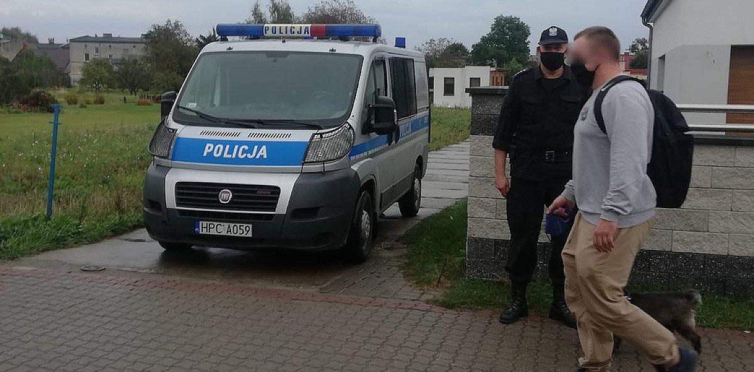 Inowrocław - Policja karze i kieruje do sądu za brak maseczek