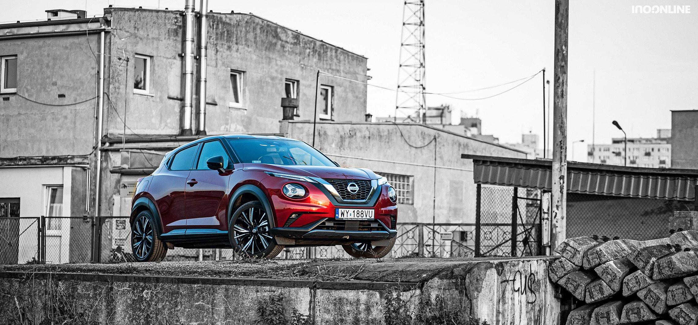 Nissan Juke - obejrzysz się za nim na ulicy