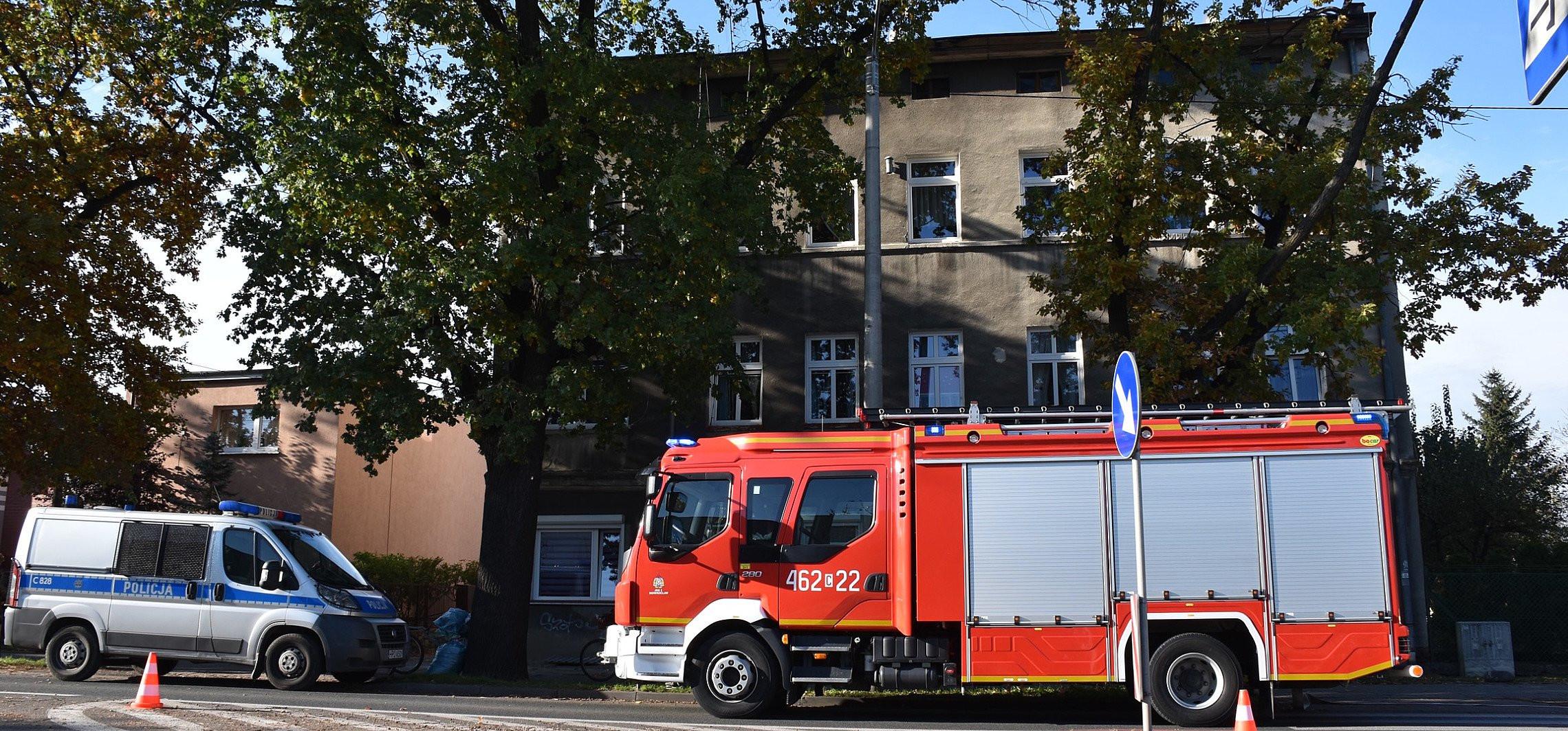 Inowrocław - W kamienicy wybuchła butla gazowa
