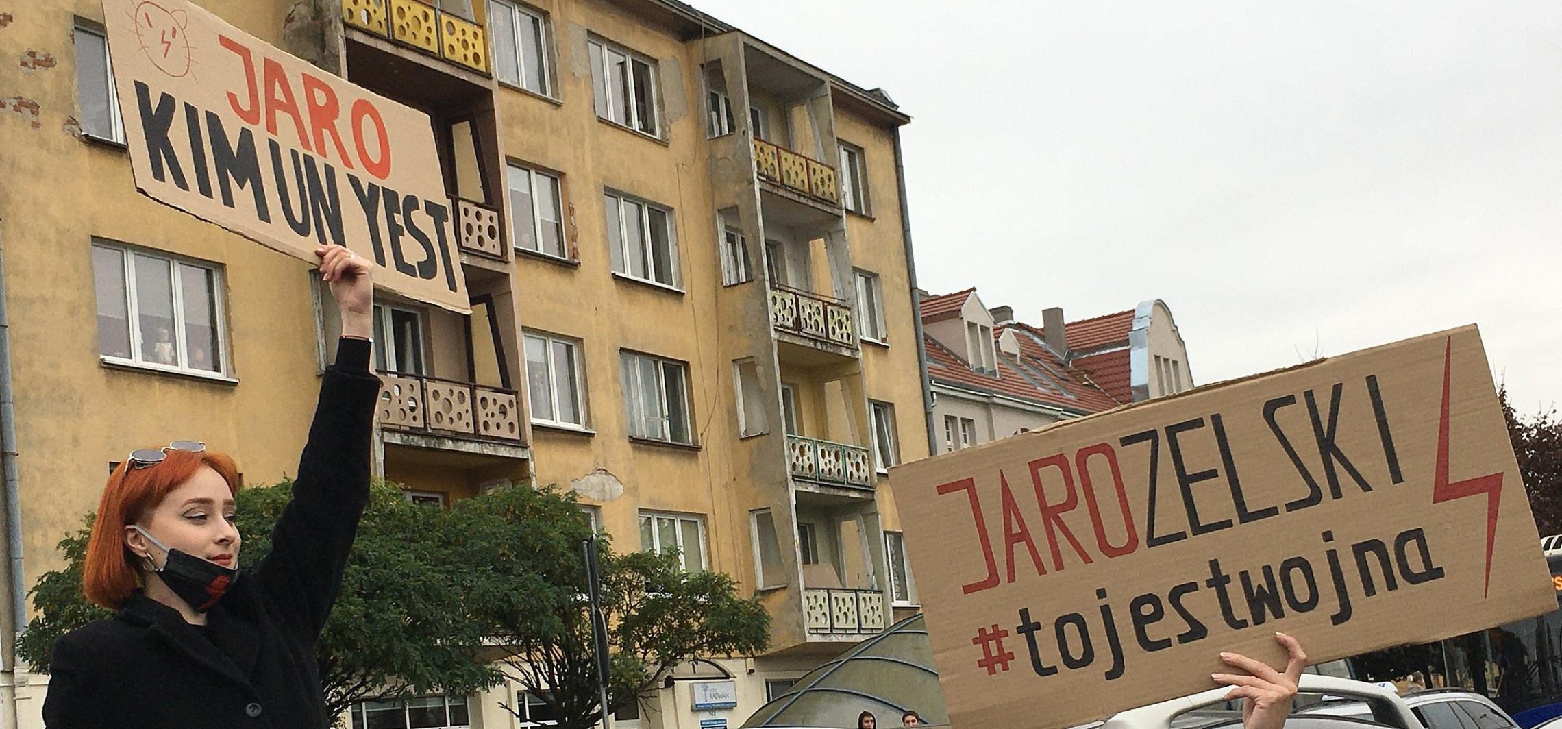 Bydgoszcz - Bydgoszcz nie słucha Kaczyńskiego. Nikt nie atakował kościołów