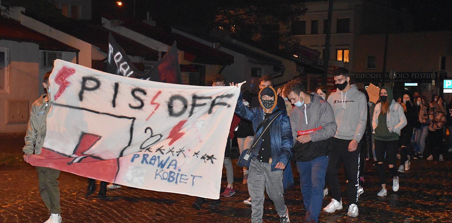 Inowrocław - Kolejny protest na inowrocławskim Rynku