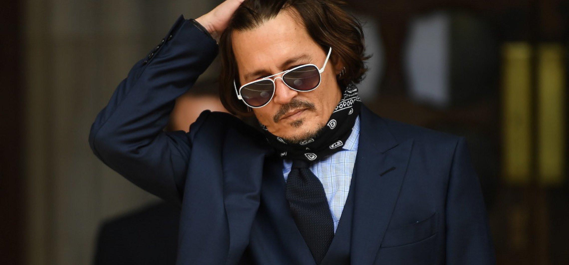 """Johnny Depp przegrał proces, który wytoczył gazecie """"The Sun"""""""