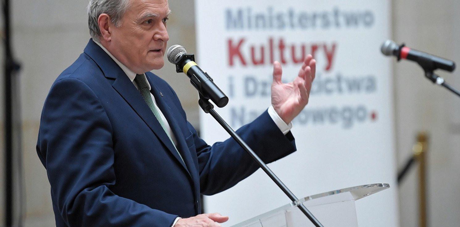 Kraj - MKiDN: minister kultury postanowił wstrzymać realizację wypłat z Funduszu Wsparcia Kultury