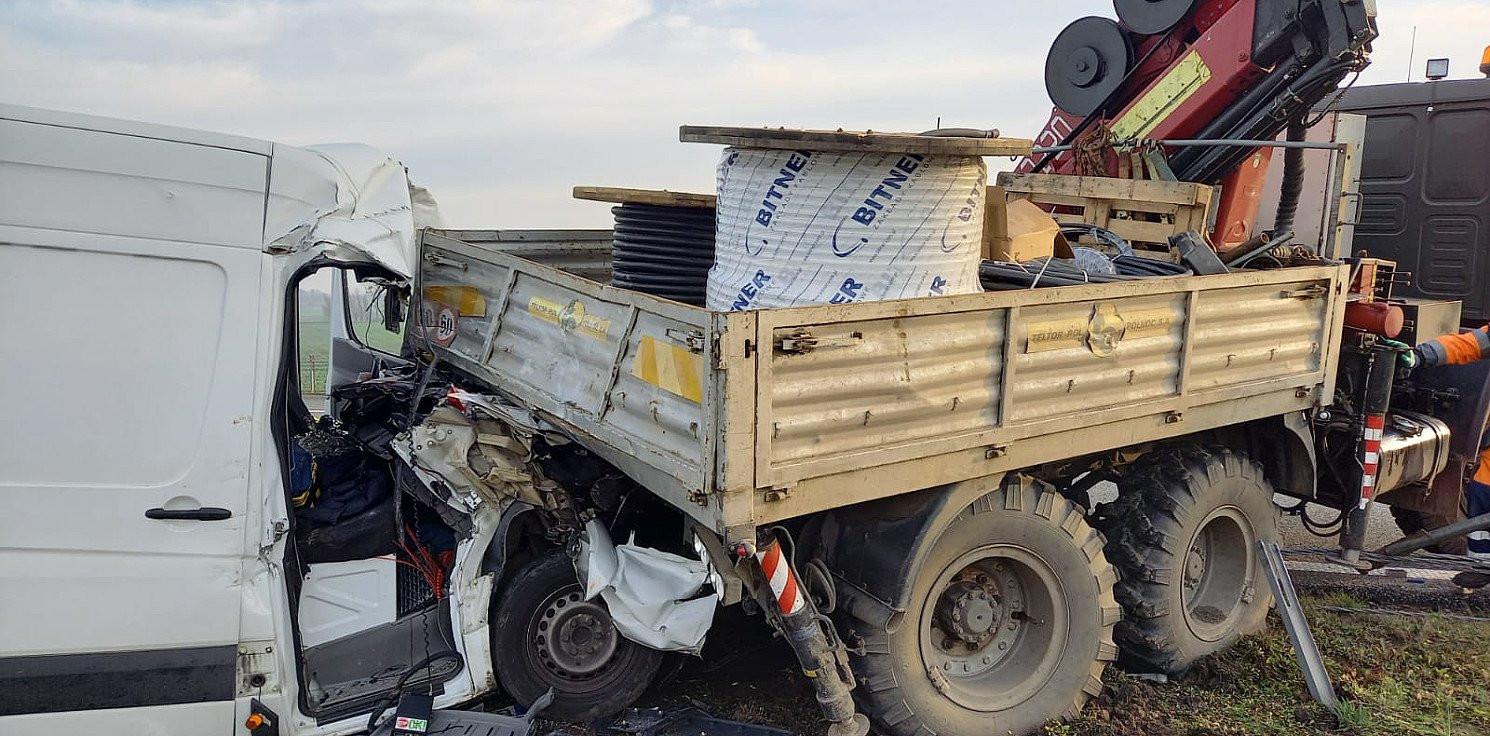 Toruń - Groźny wypadek na A1 pod Toruniem