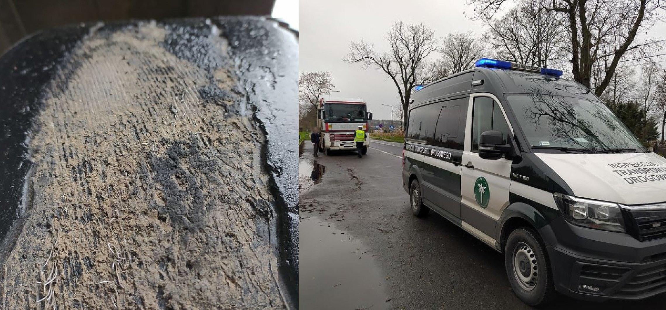 Kujawsko-Pomorskie - Pomoc drogowa sama potrzebowała pomocy