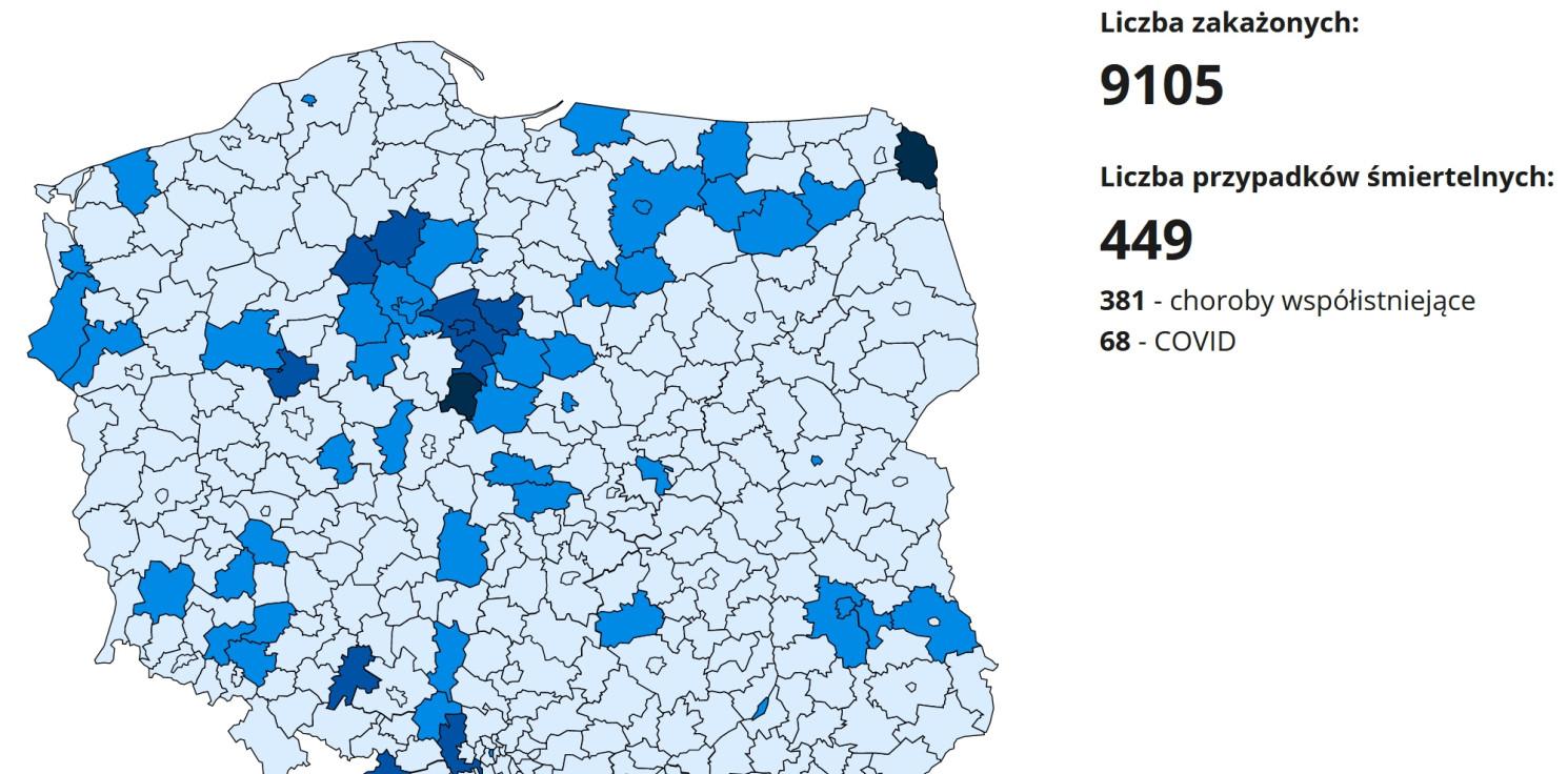 Region - W naszym województwie najwięcej nowych zakażeń