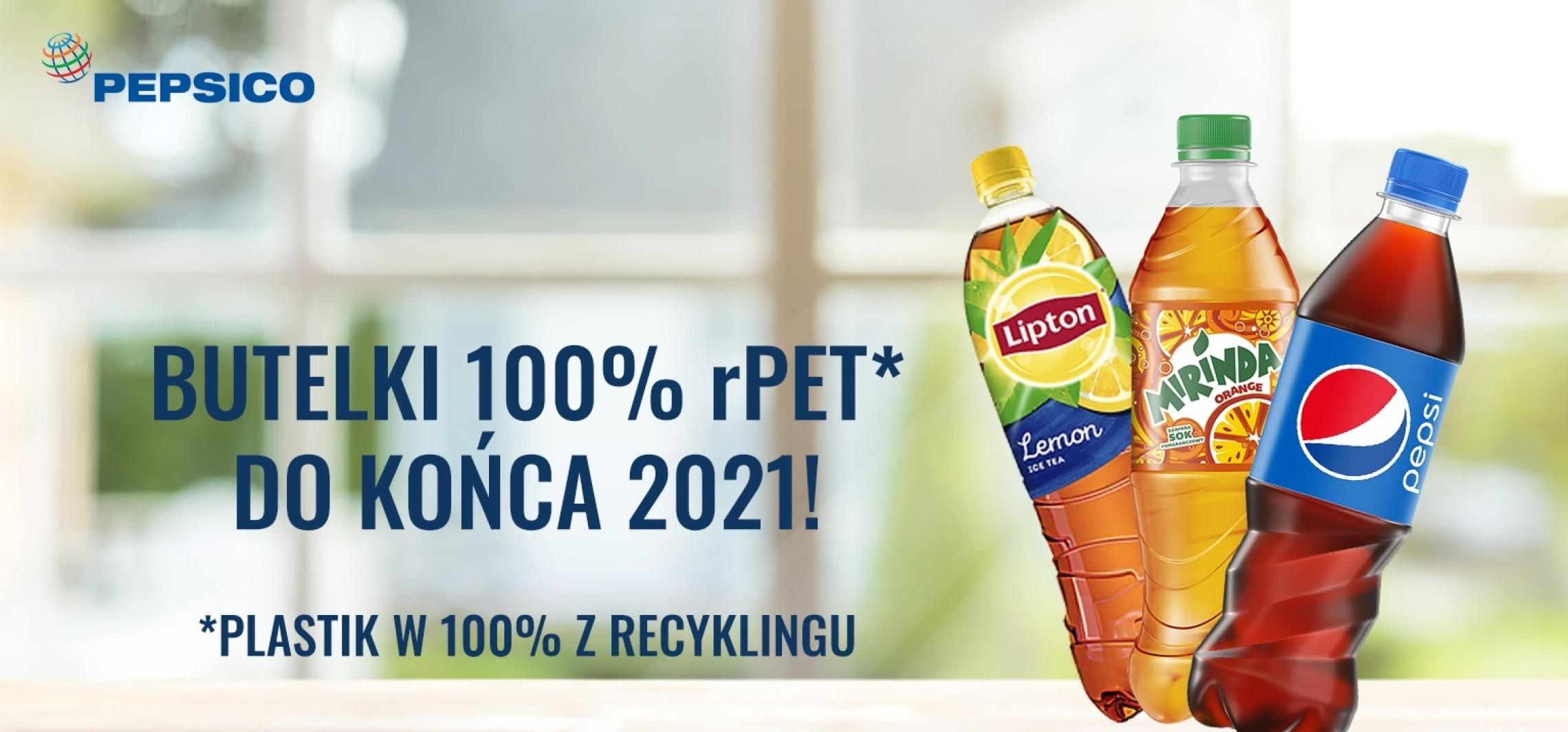 Kraj - Przełom w PepsiCo - butelki Pepsi wykonane będą w 100% z rPET do końca 2021 roku