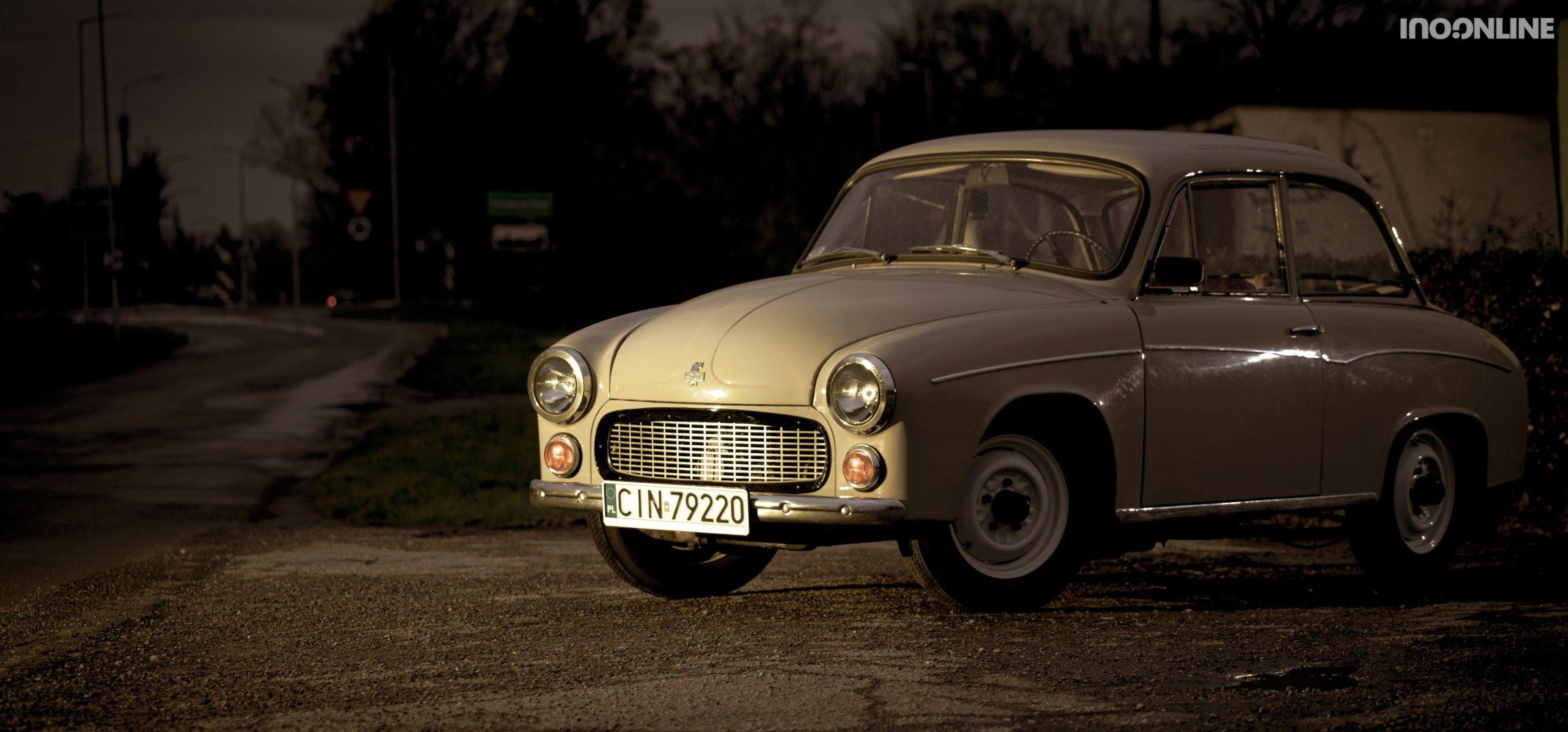 Syrena 105L - tak wyglądał kiedyś luksus