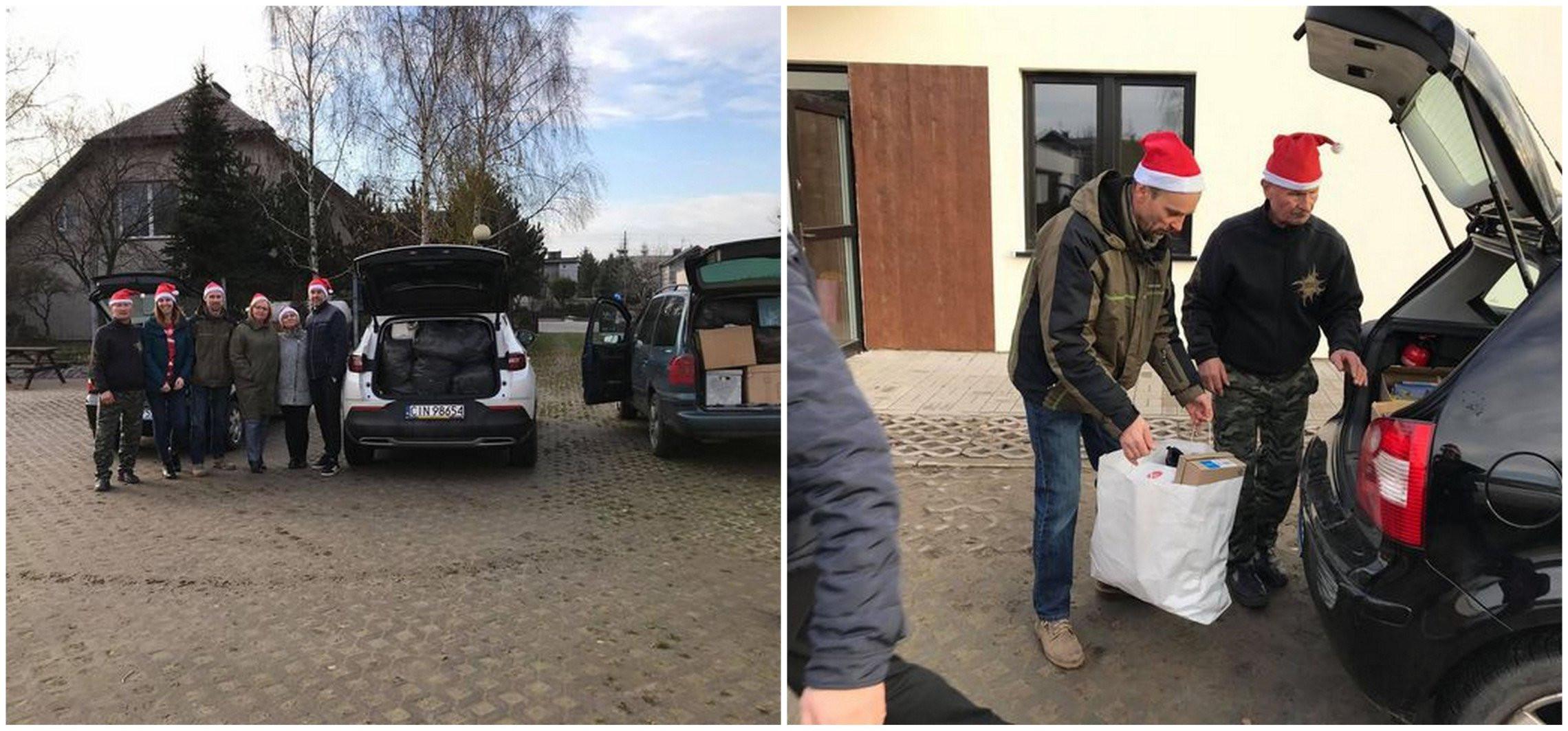 """Złotniki Kuj. - W """"Kujawiaczku"""" zbierali dary dla potrzebujących"""
