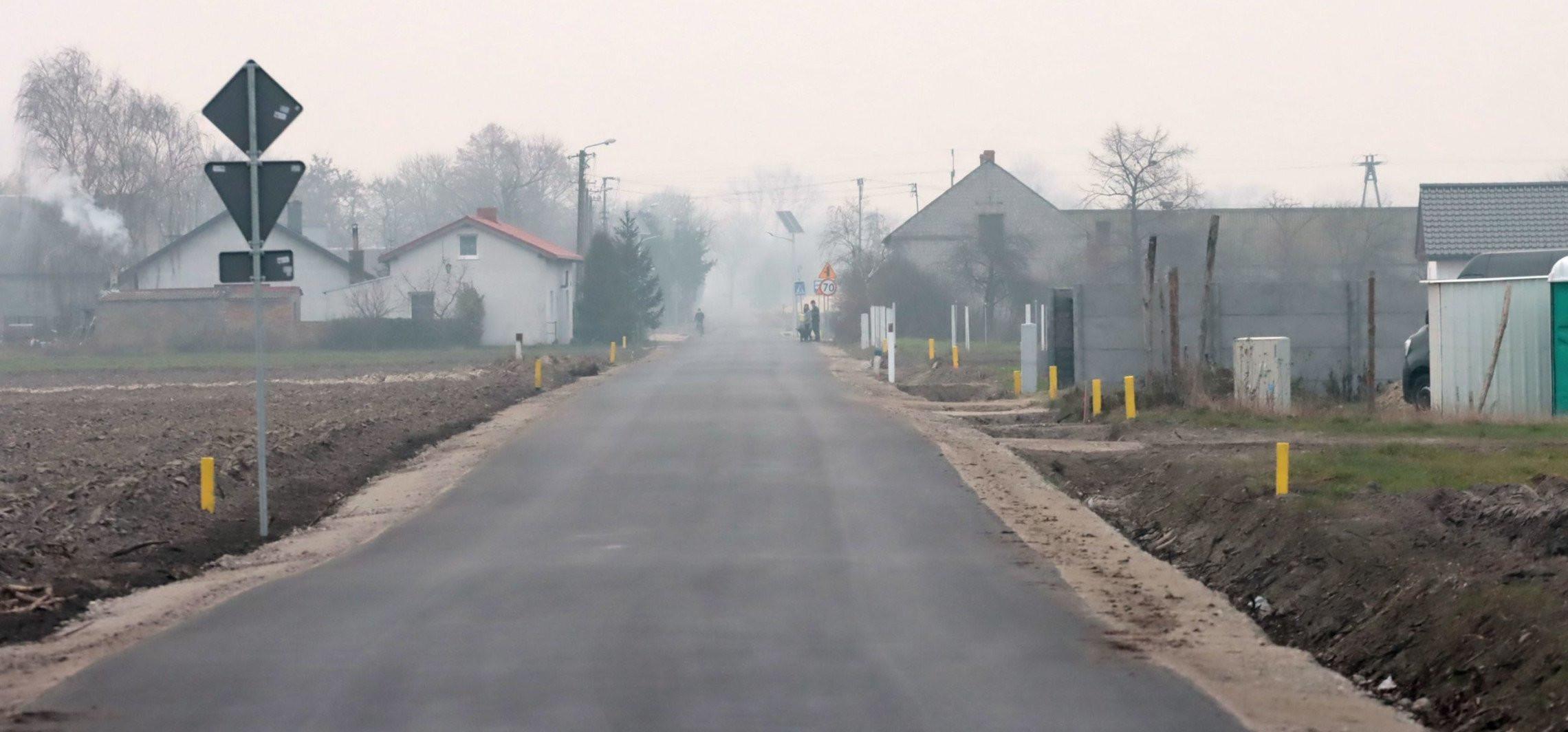 Gniewkowo - Przebudowana droga w regionie oficjalnie otwarta