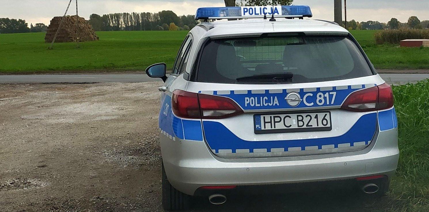 Pakość - Policjant po służbie ścigał pijanego sprawcę kolizji